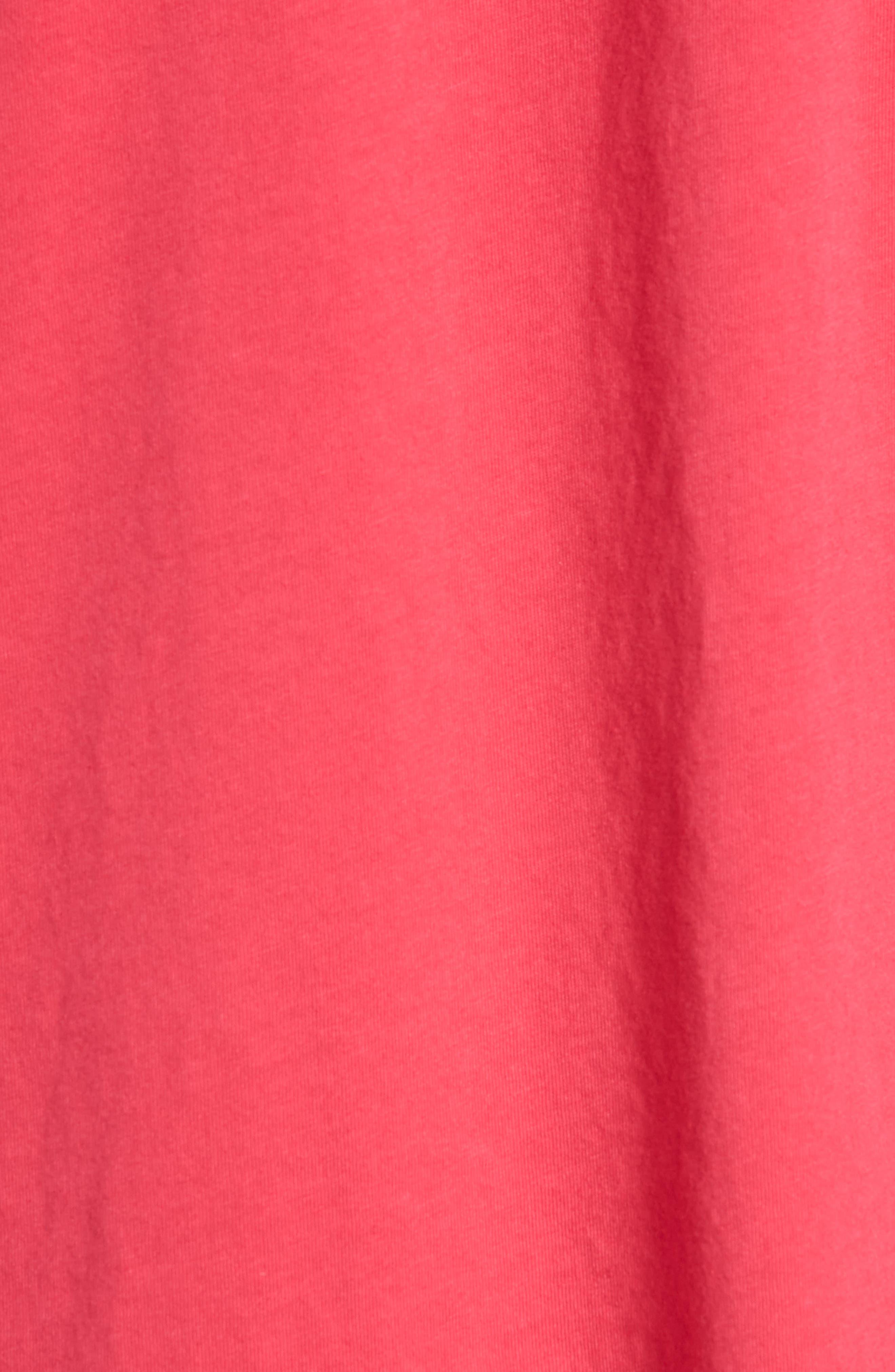Generation Appropriation Crewneck T-Shirt,                             Alternate thumbnail 5, color,                             Punk Pink