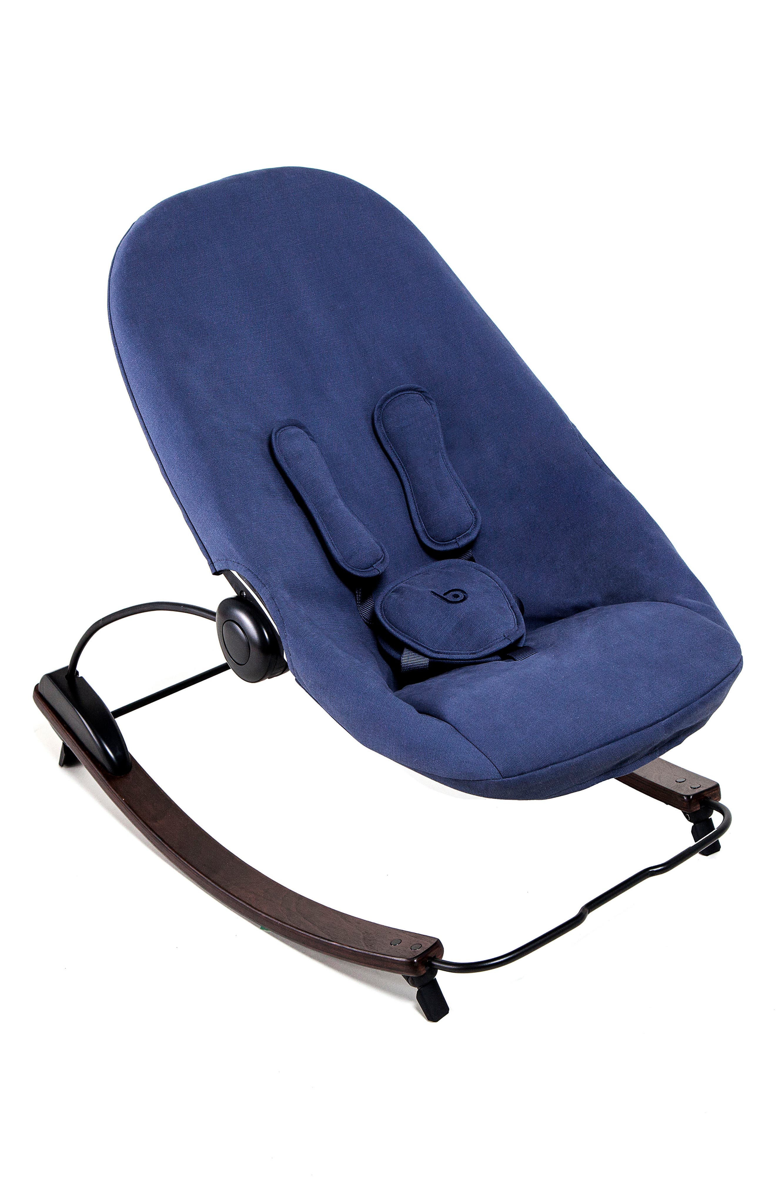 Coco Go 3-in-1 Infant Lounger,                             Main thumbnail 1, color,                             Cappuccino/ Blue