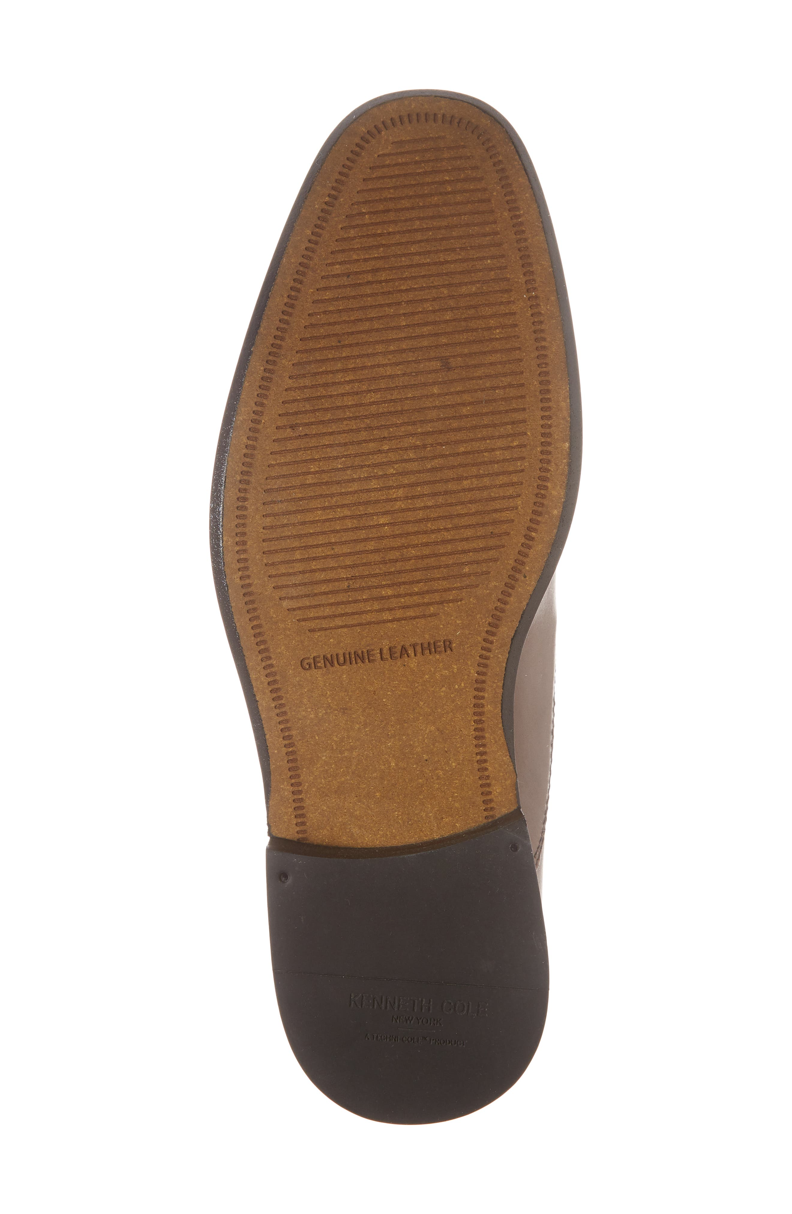Dice Cap Toe Oxford,                             Alternate thumbnail 6, color,                             Brown Leather