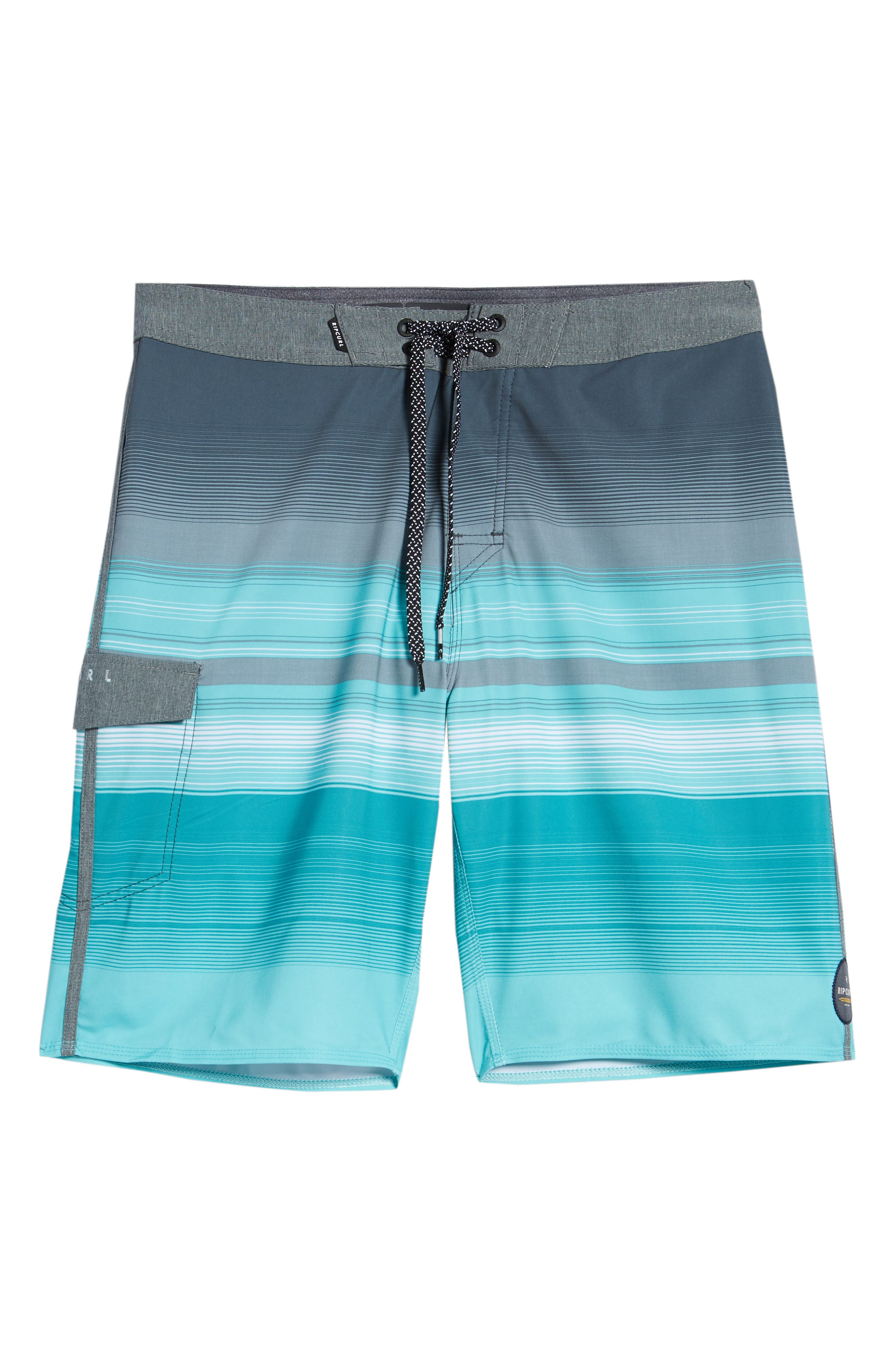Mirage Accelerate Board Shorts,                             Alternate thumbnail 6, color,                             Teal