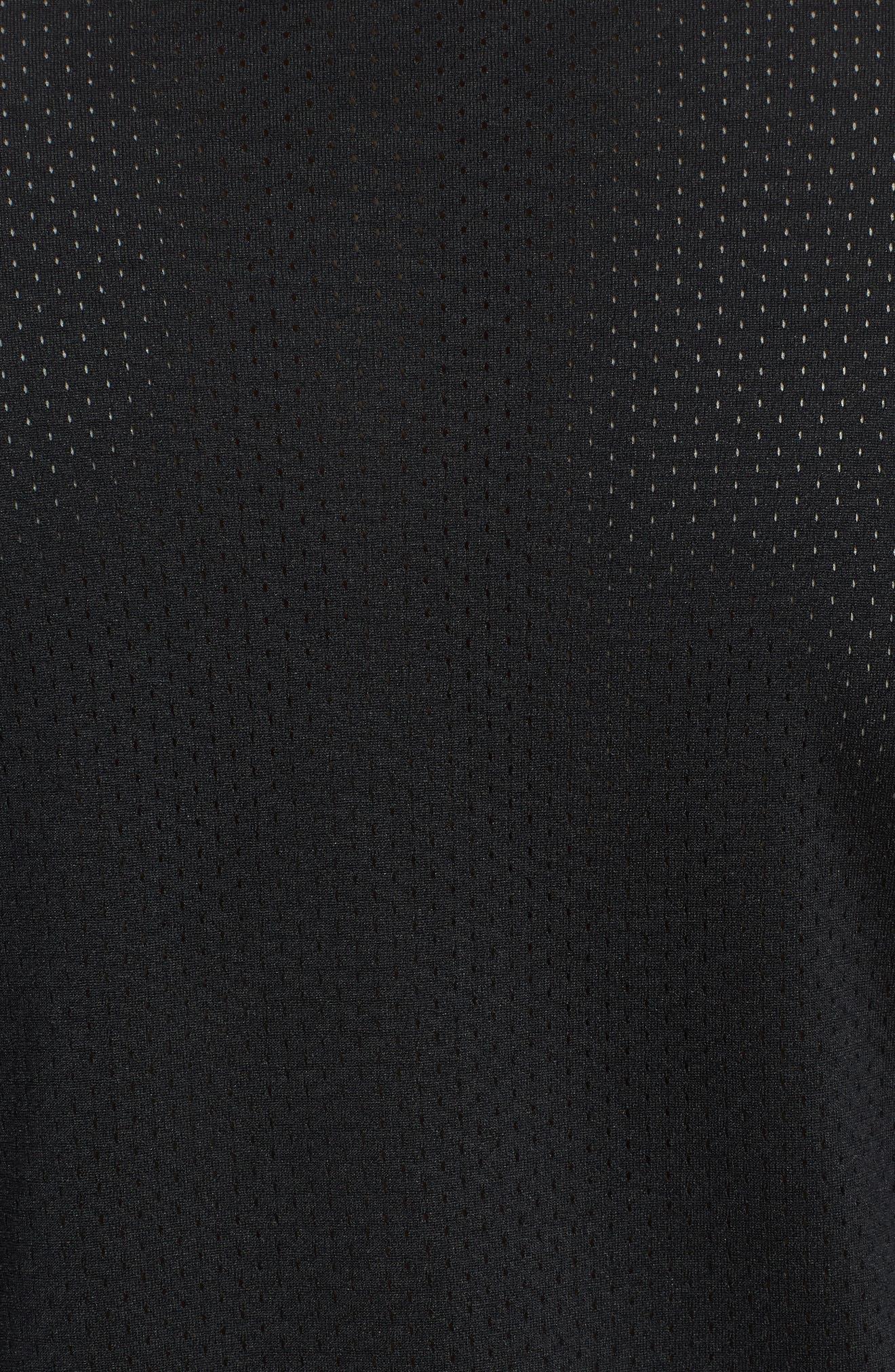 SB Dry GFX Long Sleeve T-Shirt,                             Alternate thumbnail 5, color,                             Black/ Black
