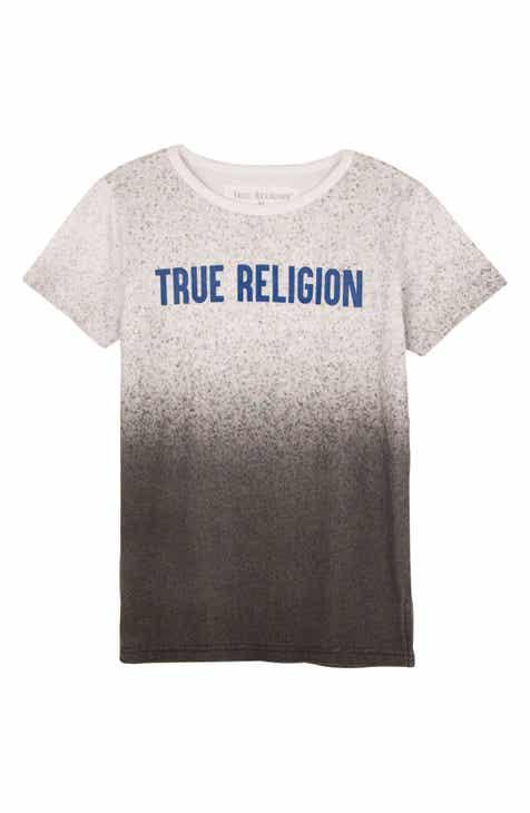 e3d099487d True Religion Brand Jeans Speckle Gradient T-Shirt (Toddler Boys