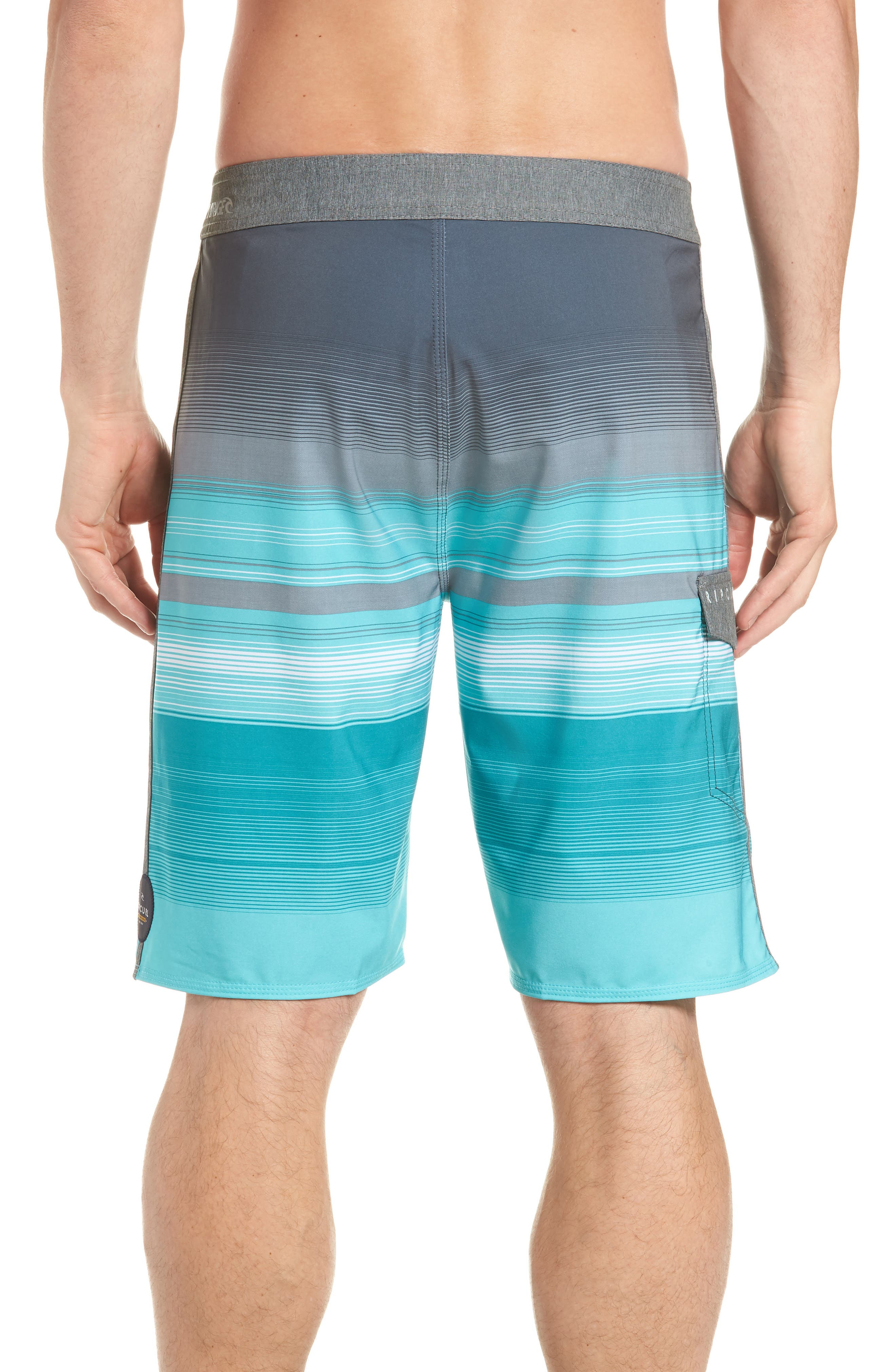 Mirage Accelerate Board Shorts,                             Alternate thumbnail 2, color,                             Teal