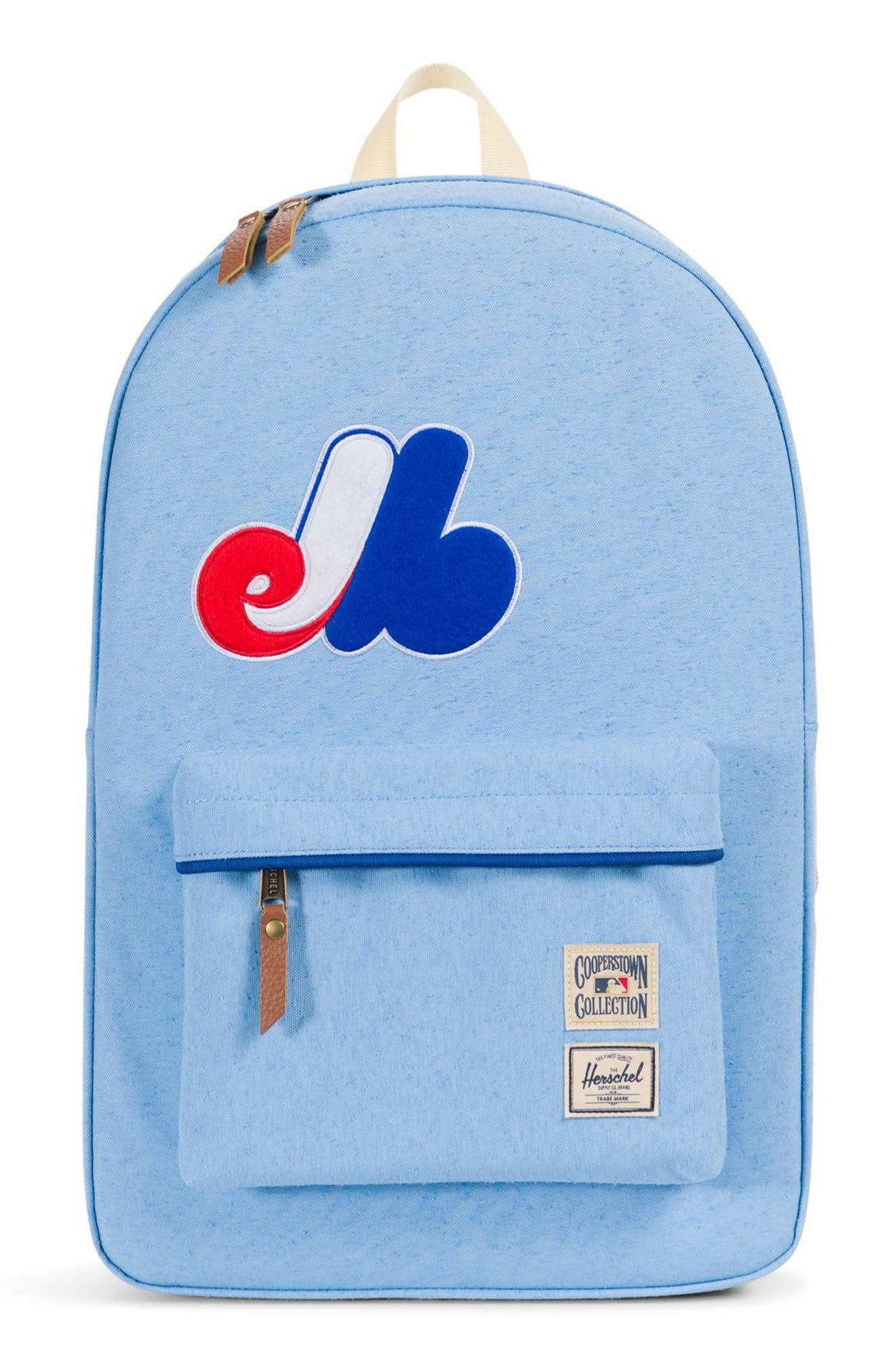 HERITAGE - MLB COOPERSTOWN COLLECTION BACKPACK - BLUE