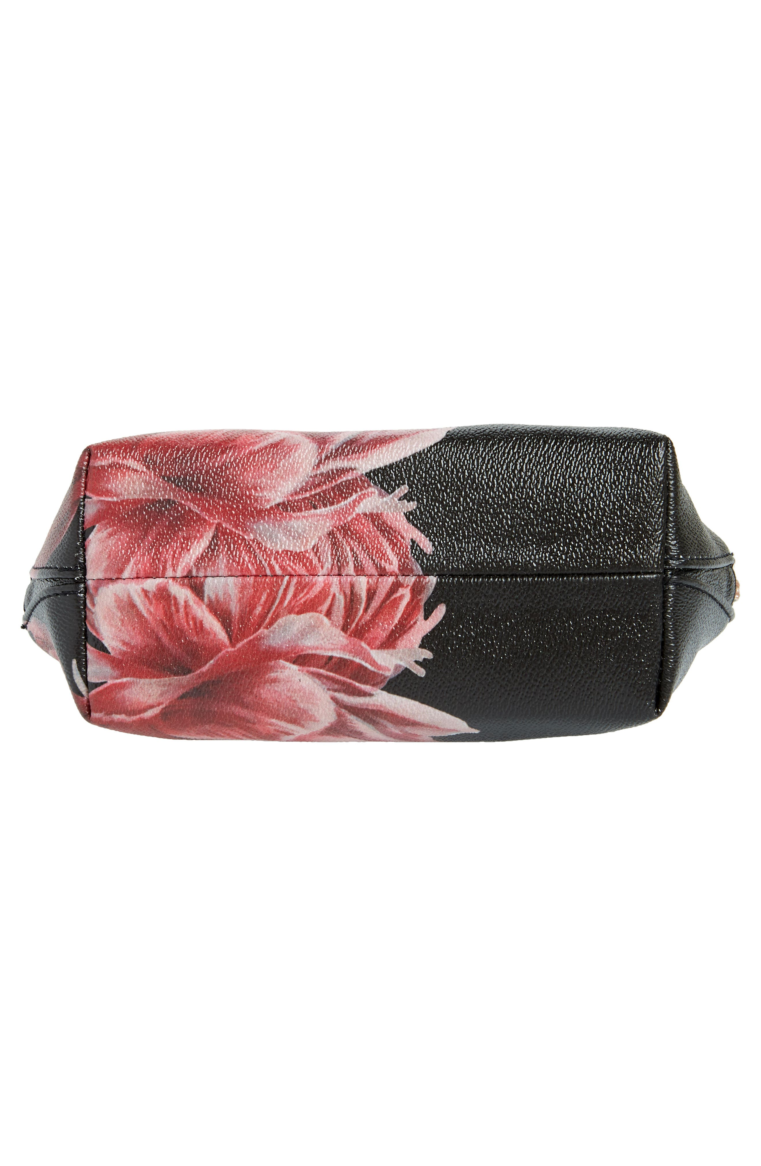 Tranquility Cosmetics Case,                             Alternate thumbnail 5, color,                             Black