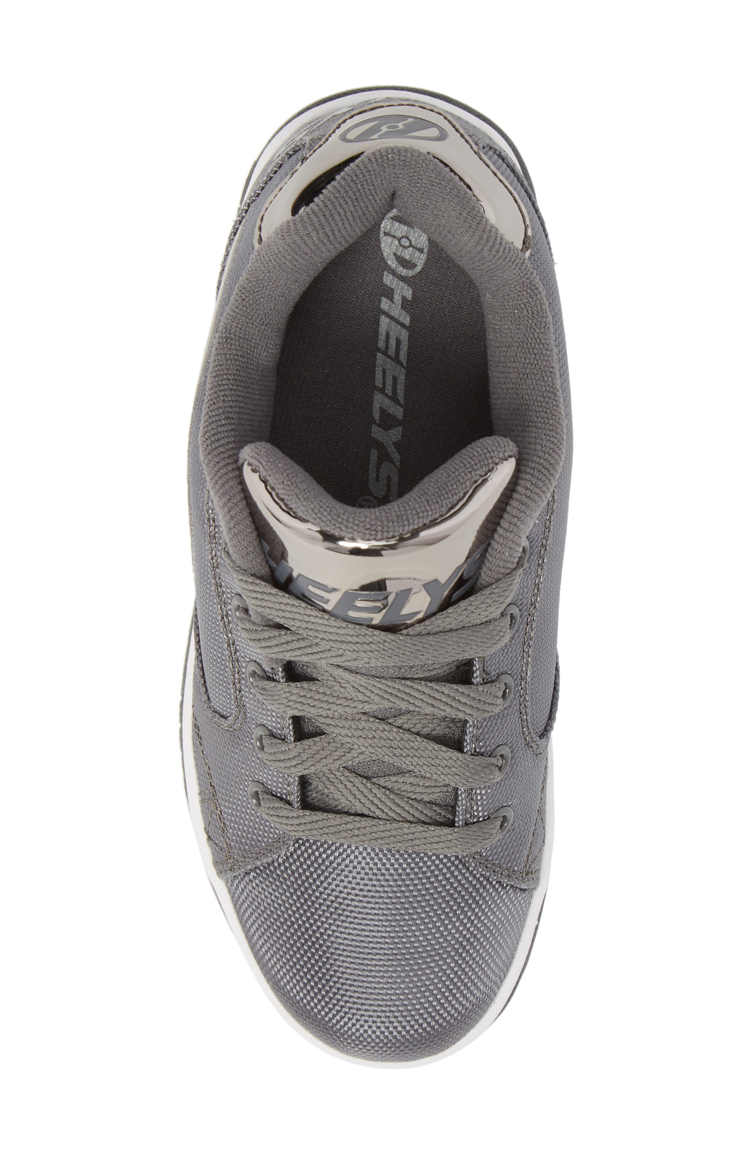 Heels Propel Ballistic Sneaker,                             Alternate thumbnail 5, color,                             Charcoal/ Pewter