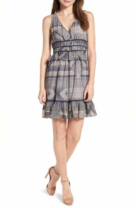 Rebecca Minkoff Lucille Sleeveless Ruffle Dress