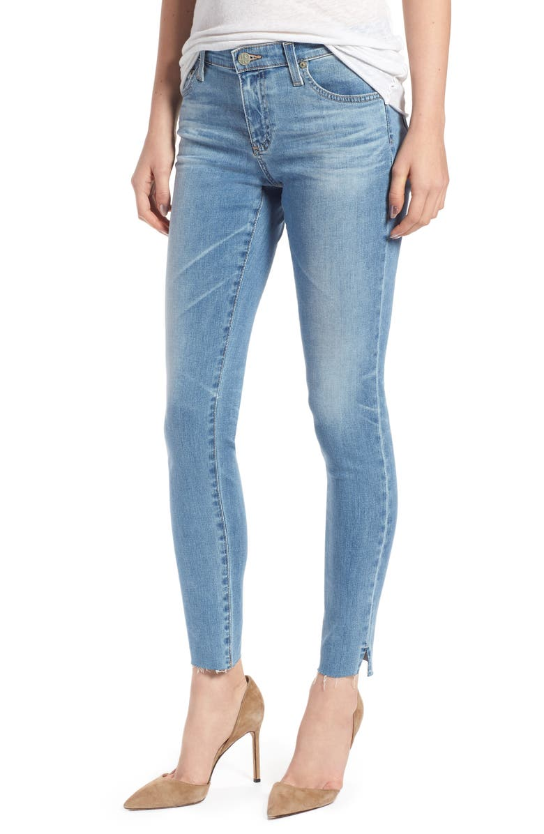 The Legging Ripped Ankle Skinny Jeans