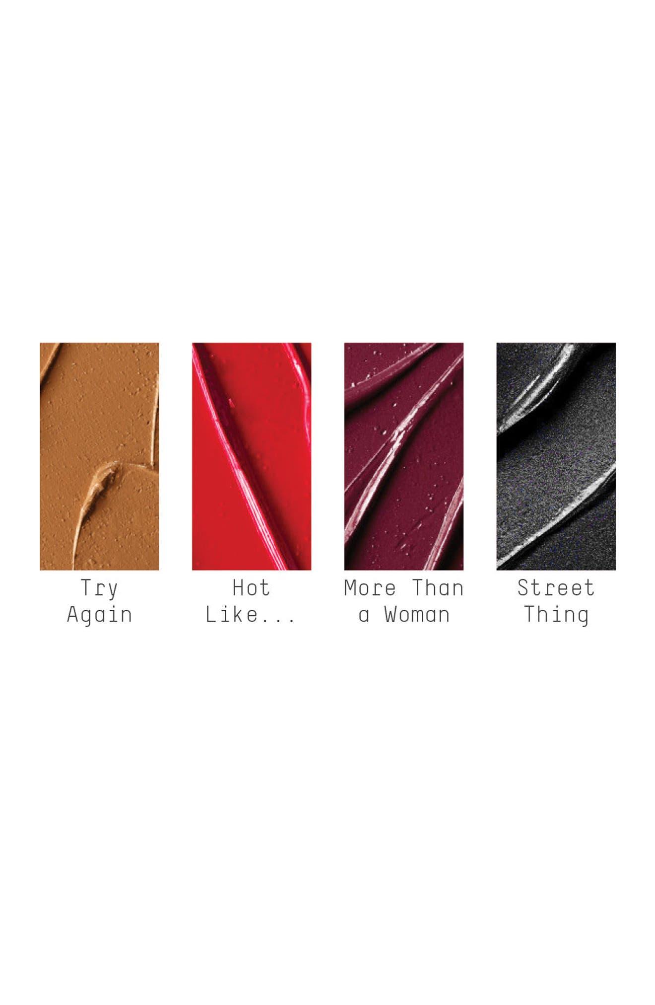 MAC Aaliyah Lipstick,                             Alternate thumbnail 4, color,                             Hot Like (A)
