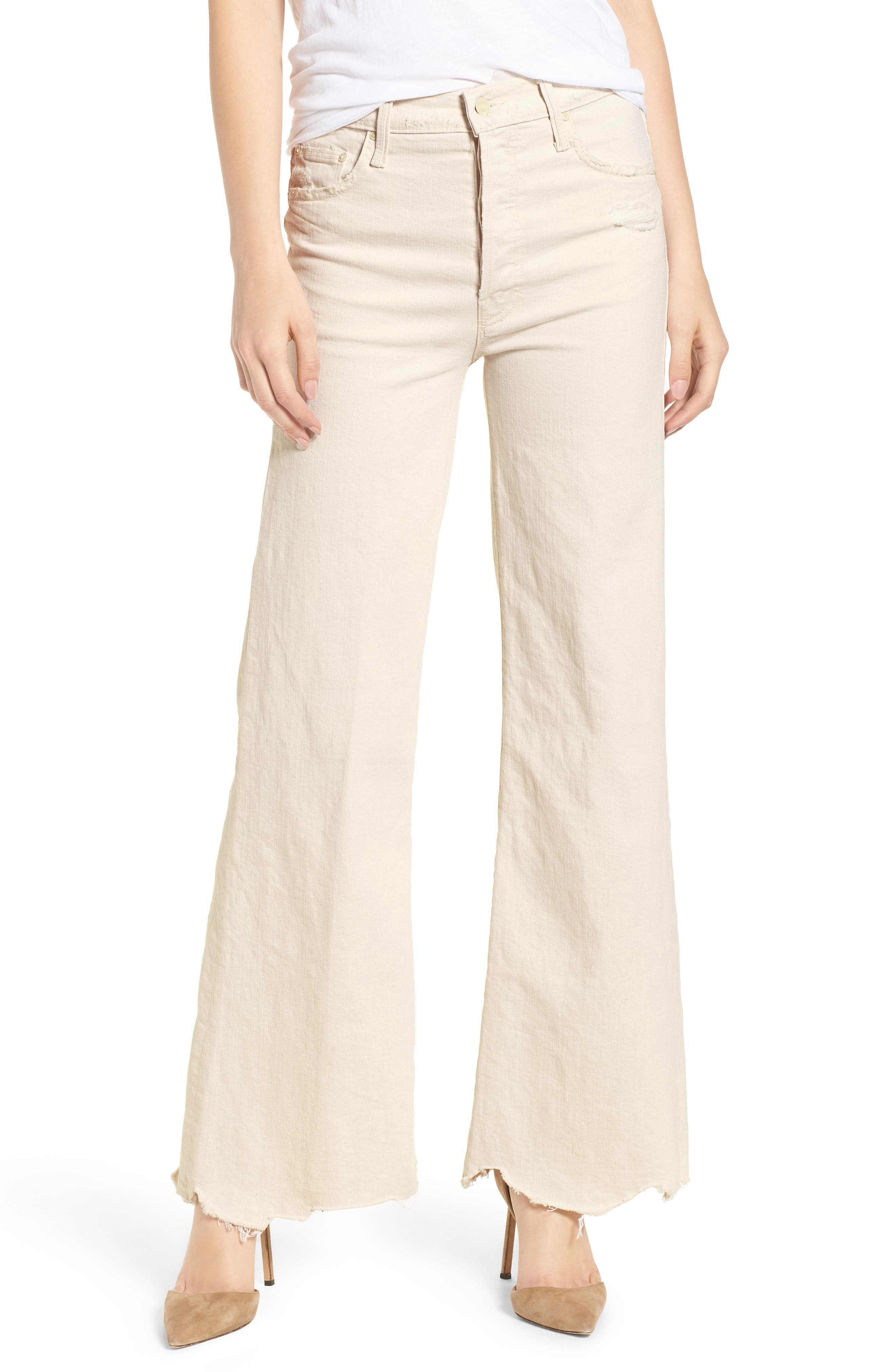 THE TOMCAT CHEW RIPPED HIGH WAIST FLARE JEANS