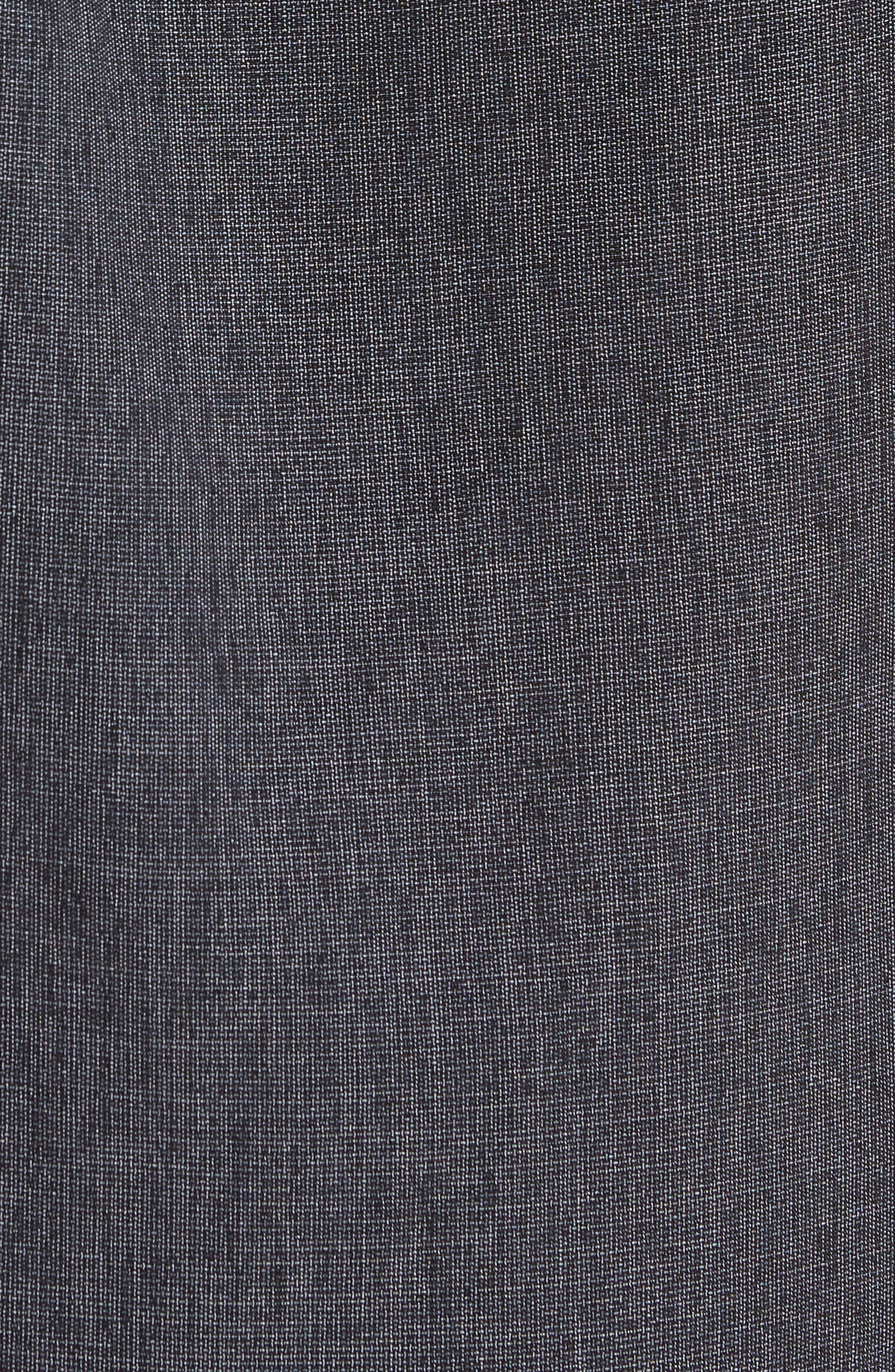 Liberty Regular Fit Short Sleeve Sport Shirt,                             Alternate thumbnail 5, color,                             Light Grey