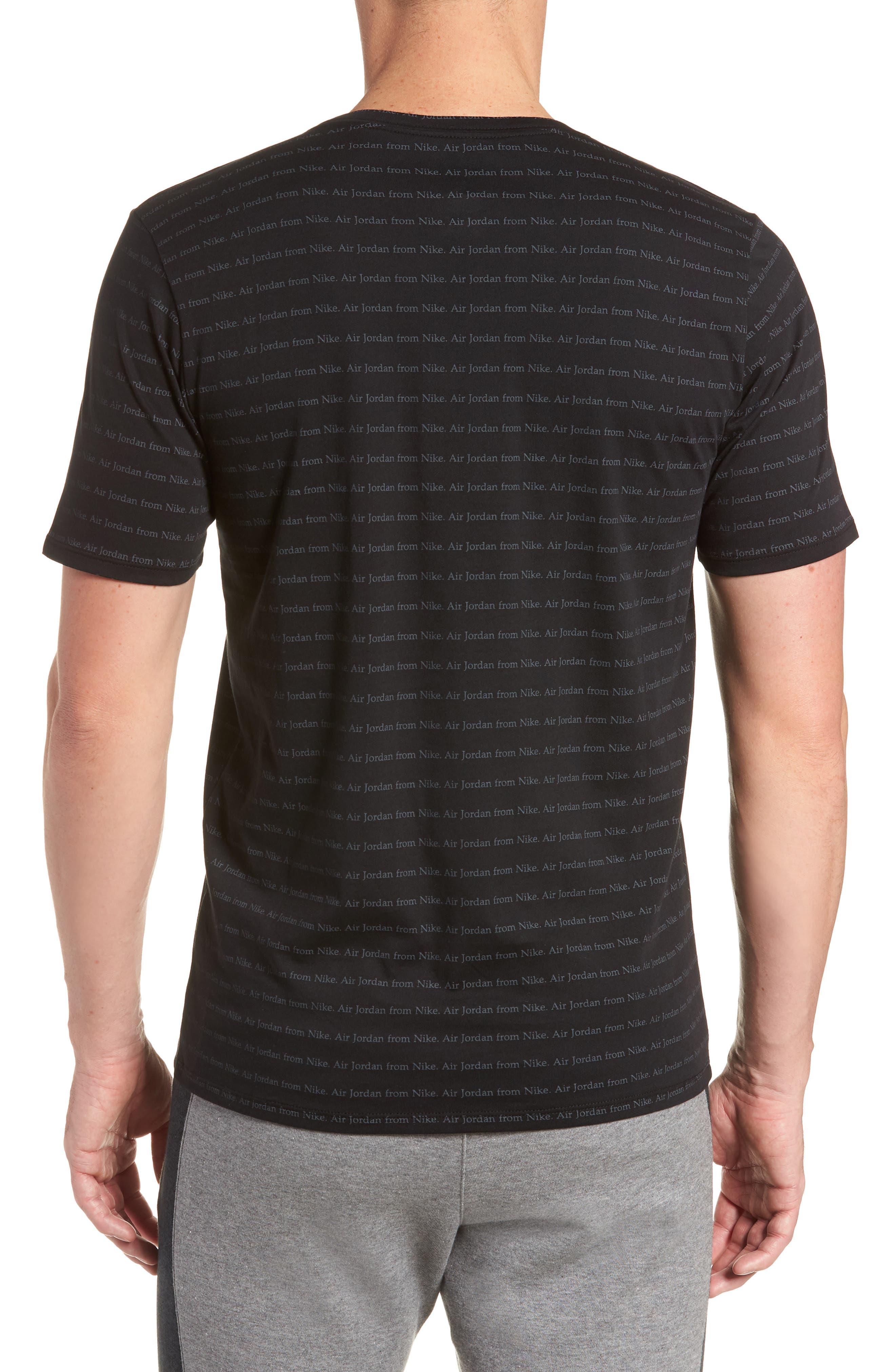 Sportswear T-Shirt,                             Alternate thumbnail 2, color,                             Black