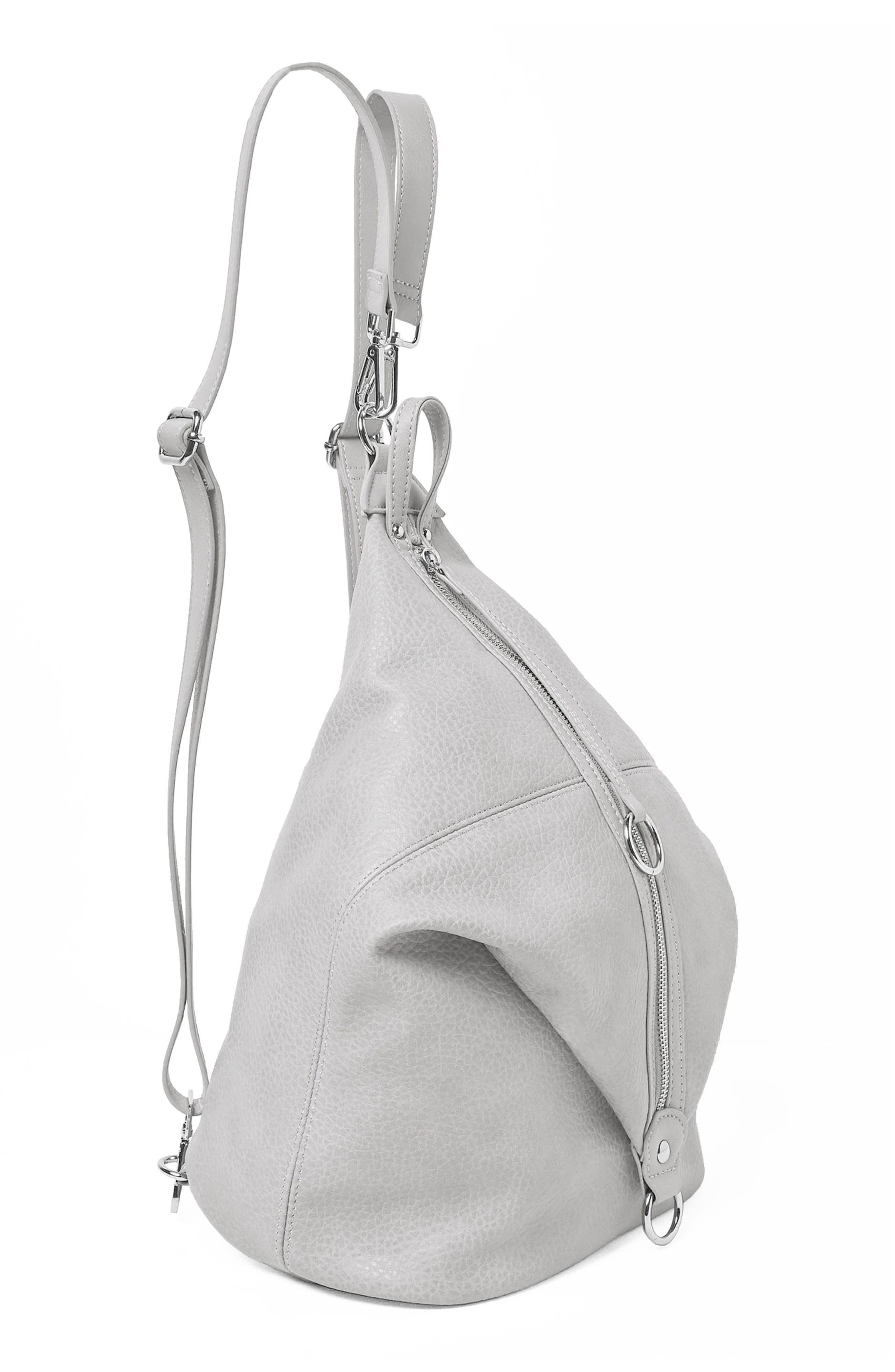 Desert Reign Vegan Leather Backpack,                             Alternate thumbnail 2, color,                             Grey