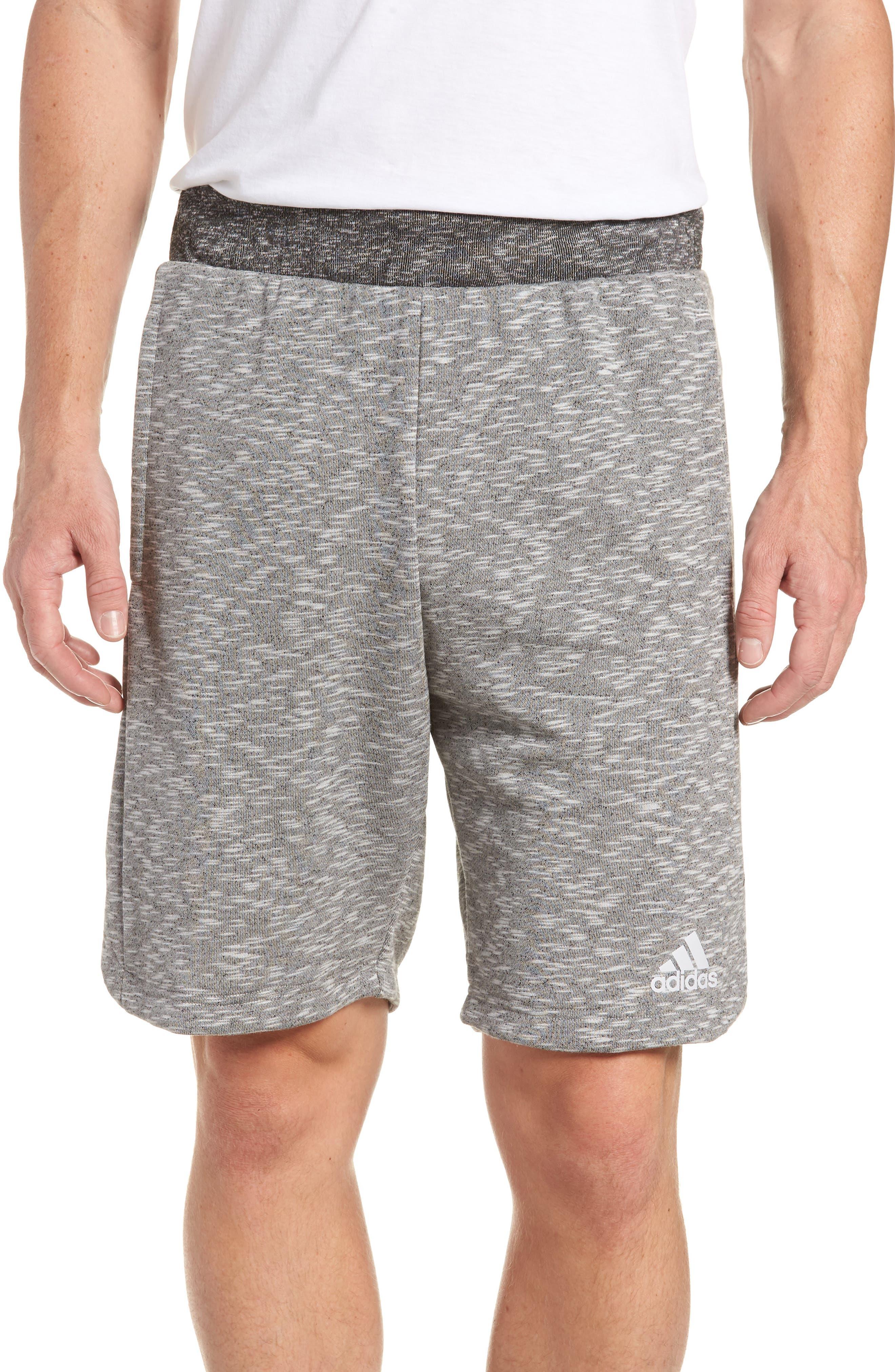 Pick Up Knit Shorts,                             Main thumbnail 1, color,                             Lgh Solid Grey