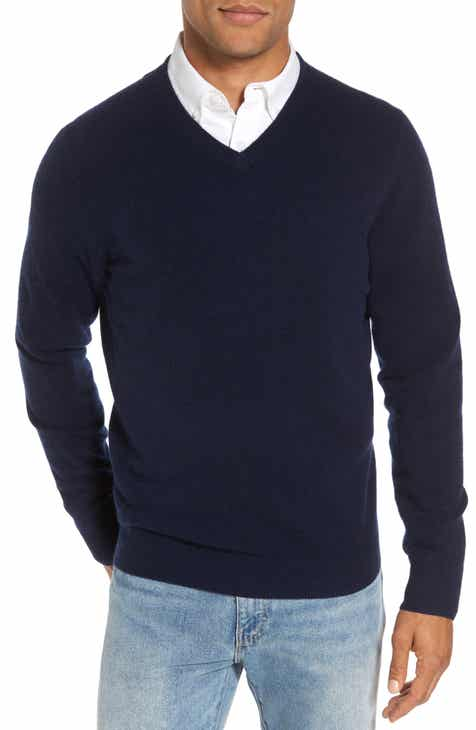75c9a61de1b Nordstrom Men s Shop Cashmere V-Neck Sweater