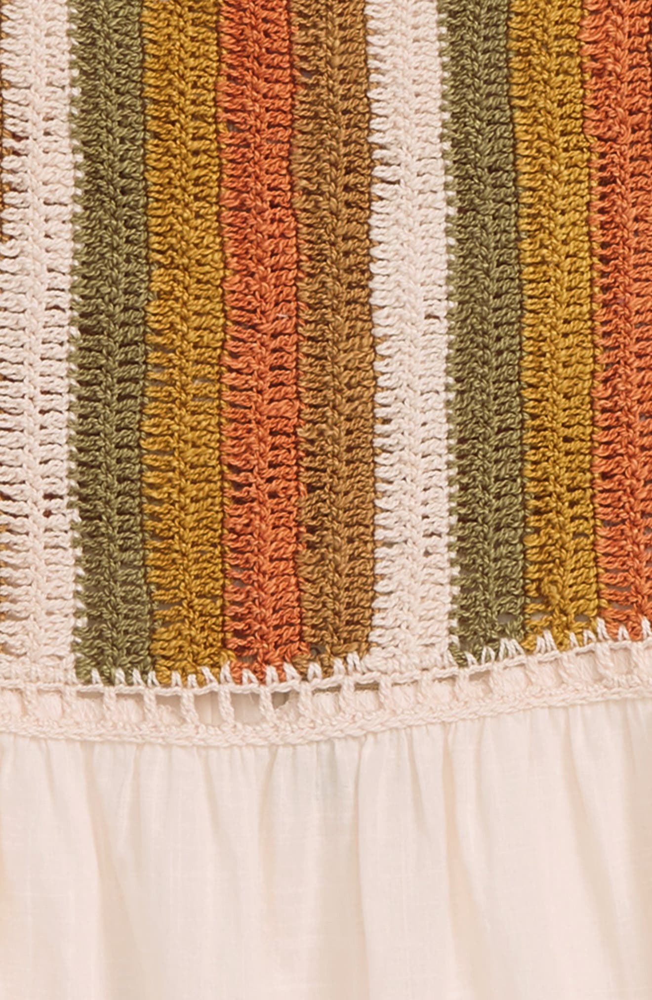 Presley Crochet Tank,                             Alternate thumbnail 2, color,                             Peach