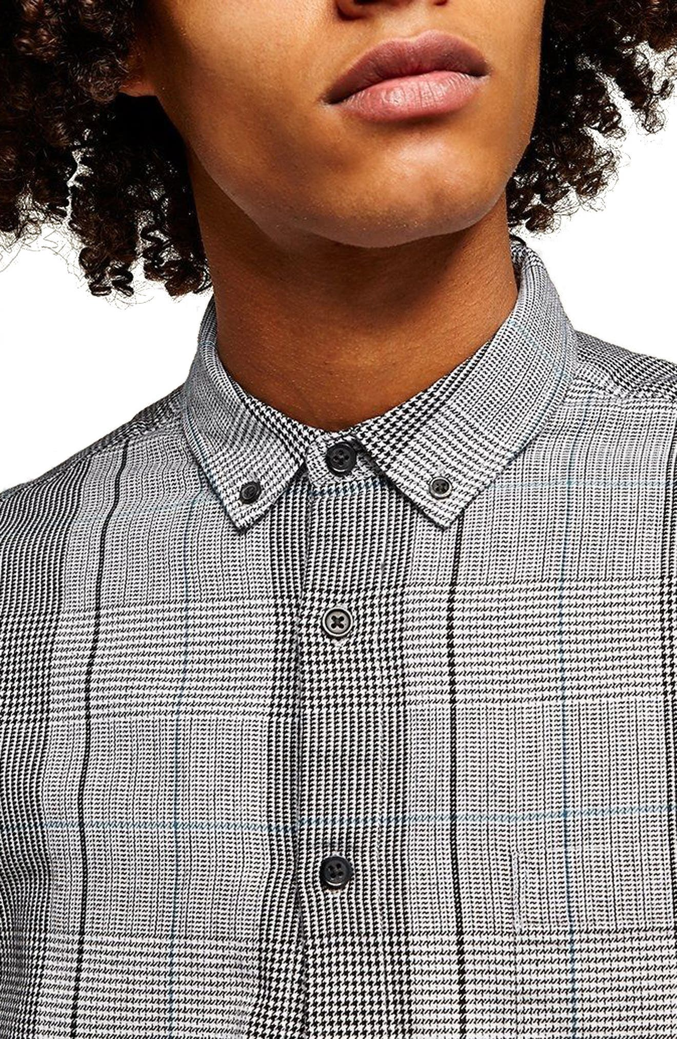 Long Sleeve Heritage Check Classic Fit Sport Shirt,                             Alternate thumbnail 2, color,                             Grey Multi