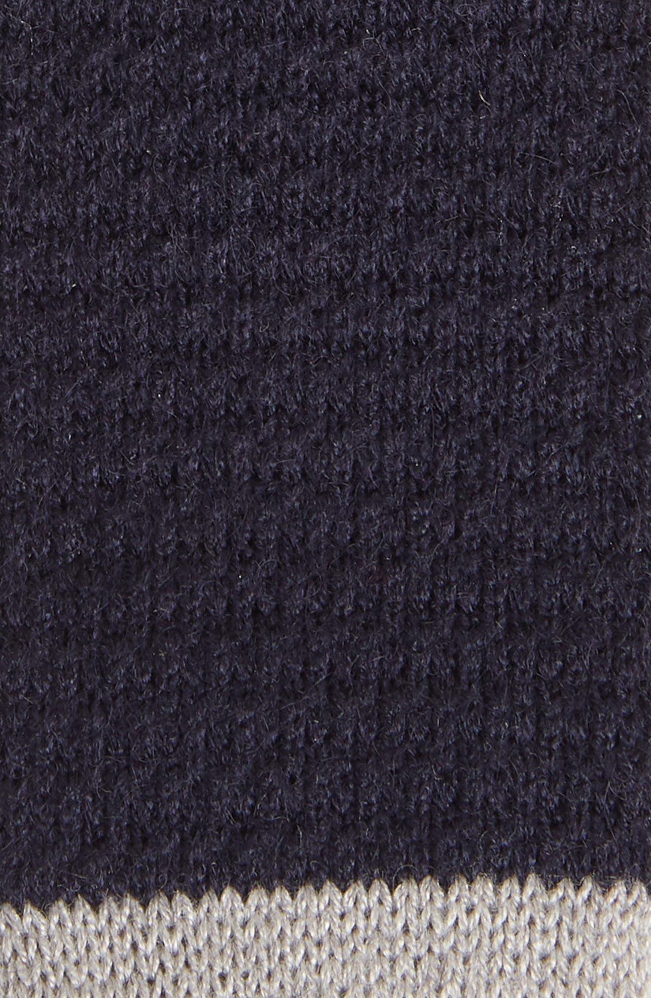 Belvin Knit Skinny Tie,                             Alternate thumbnail 2, color,                             Navy