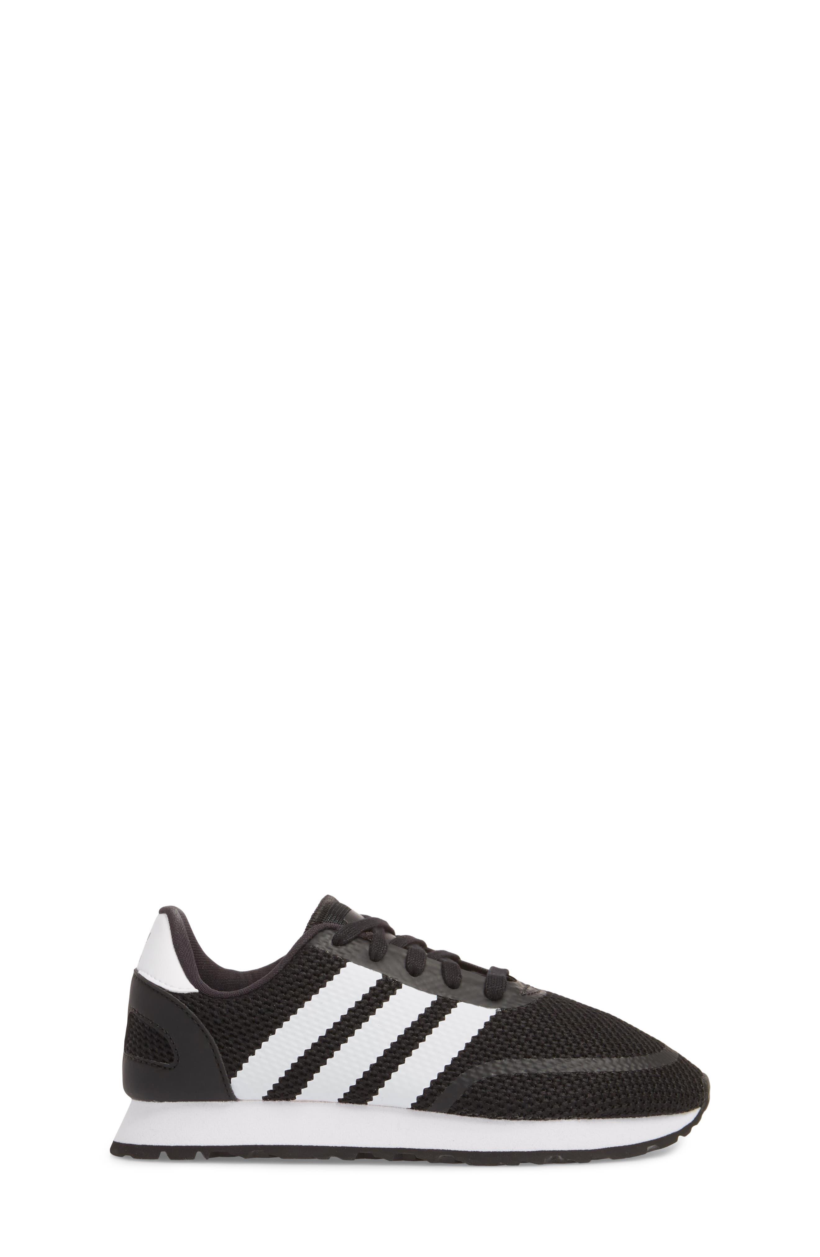 N-5923 Sneaker,                             Alternate thumbnail 5, color,                             Black/ White/ Black