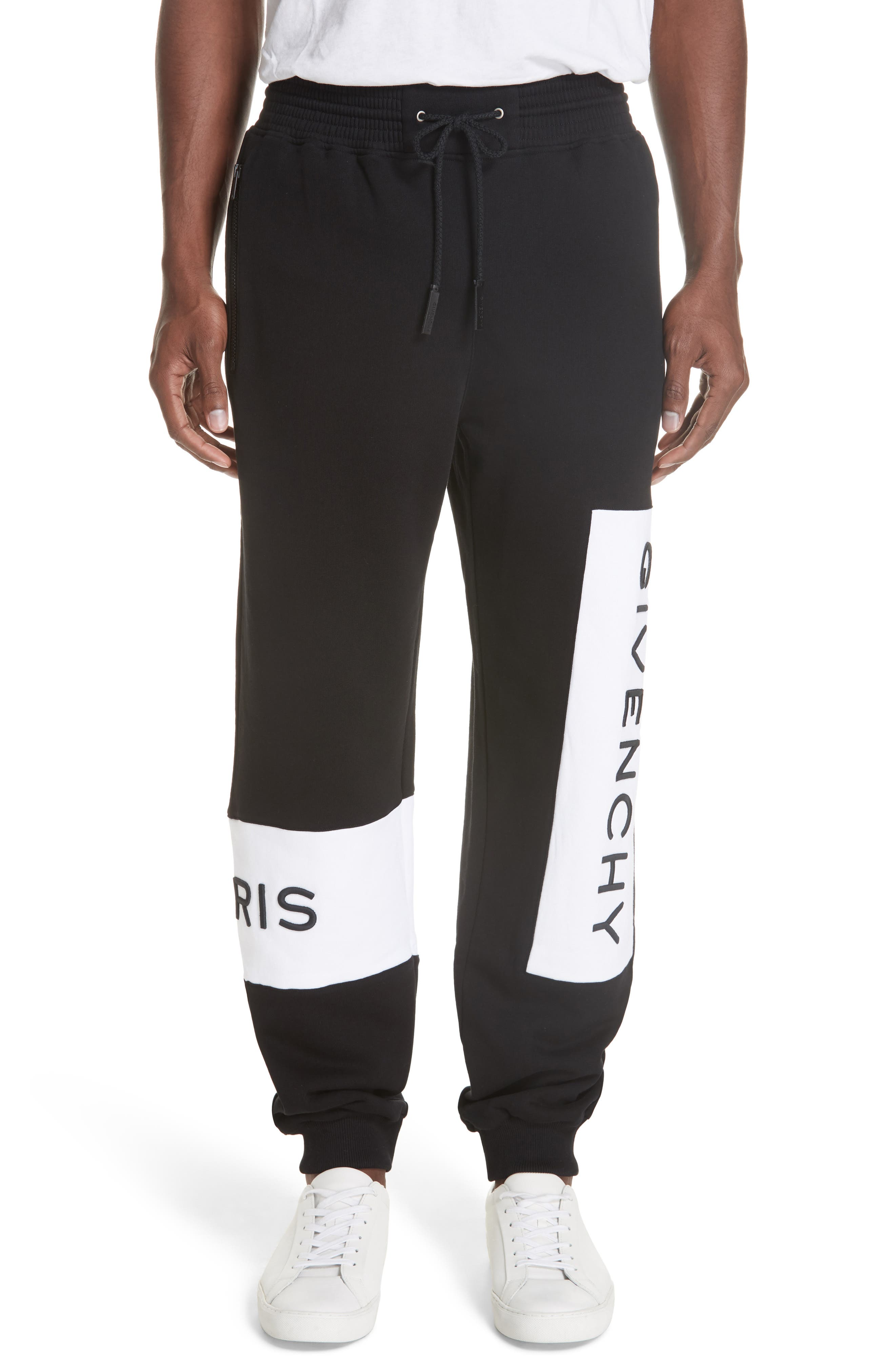 Logo Sweatpants,                         Main,                         color, Black