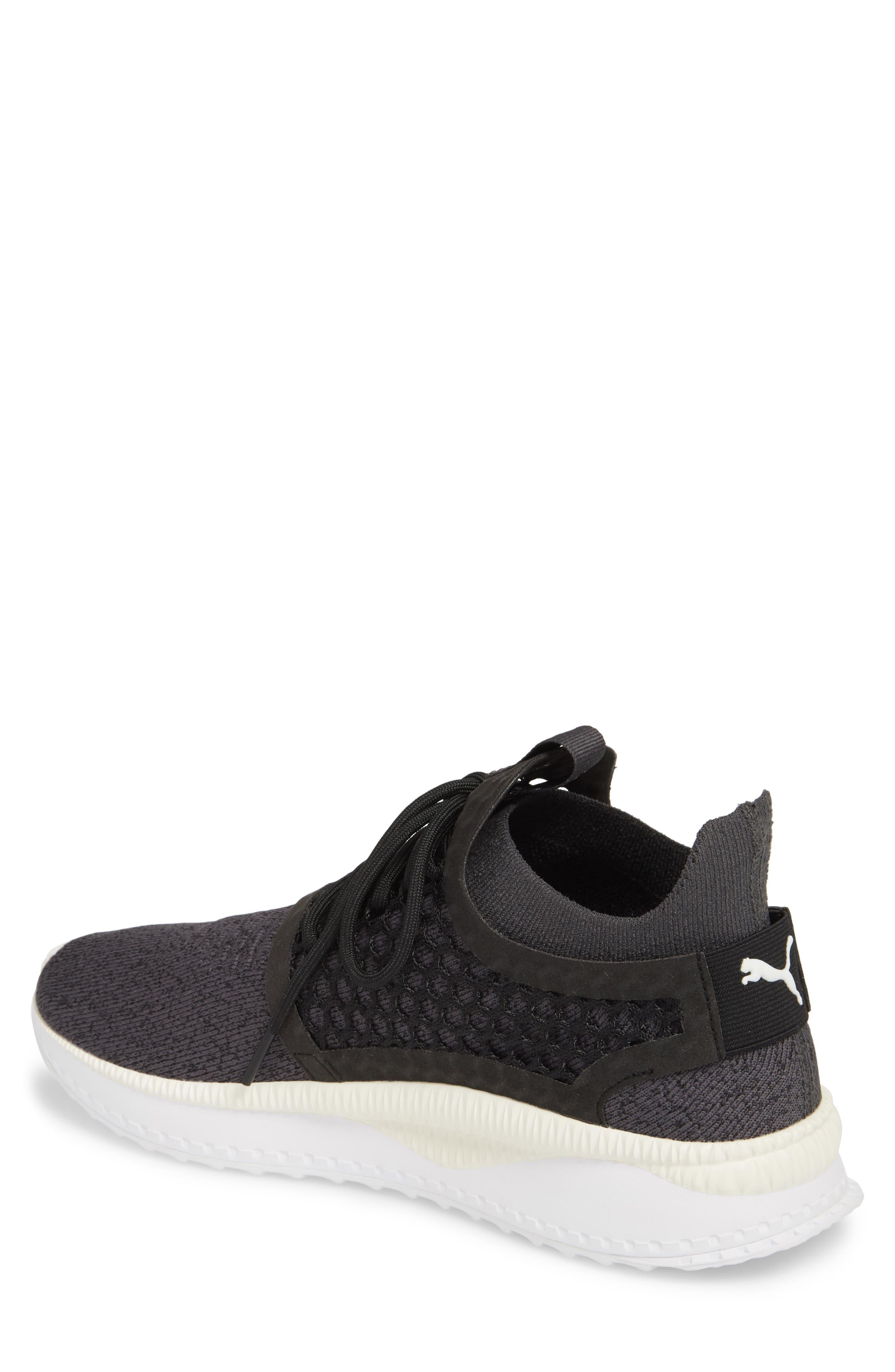 Tsugi Netfit V2 EvoKNIT Sneaker,                             Alternate thumbnail 2, color,                             Black/ Asphalt/ White