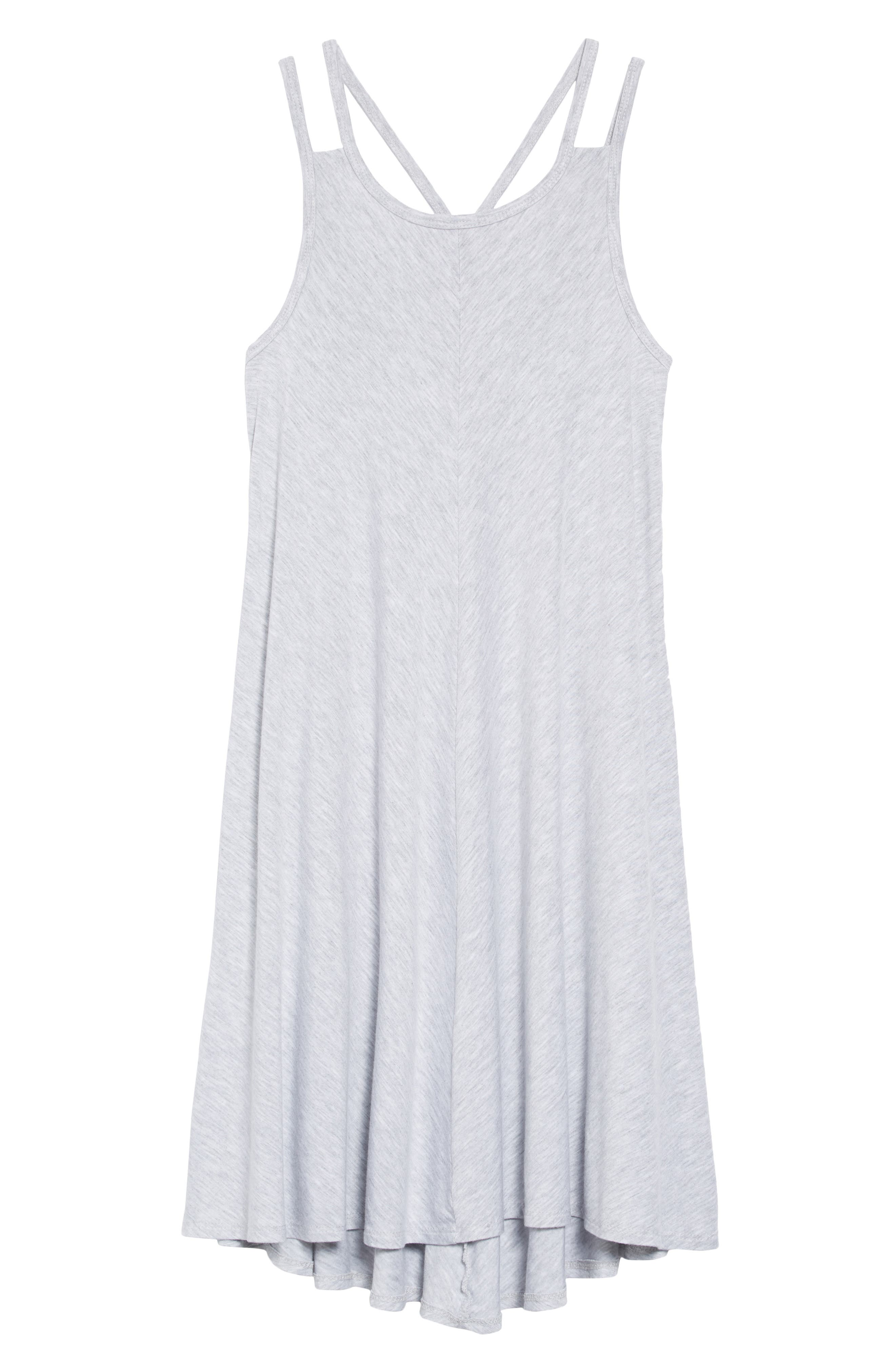 Strappy Dress,                         Main,                         color, Grey Ash Heather