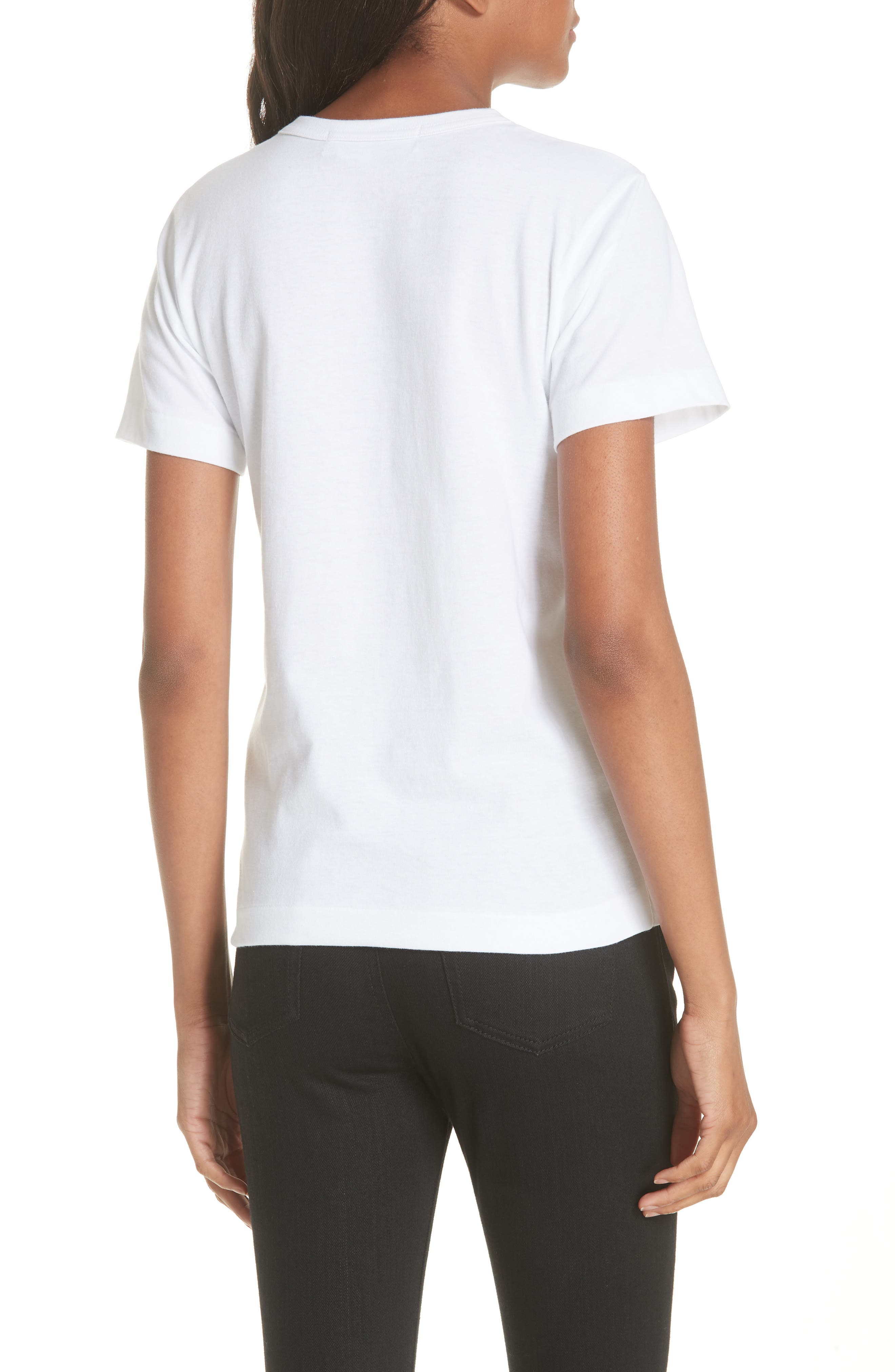 PLAY Graphic Tee,                             Alternate thumbnail 2, color,                             White