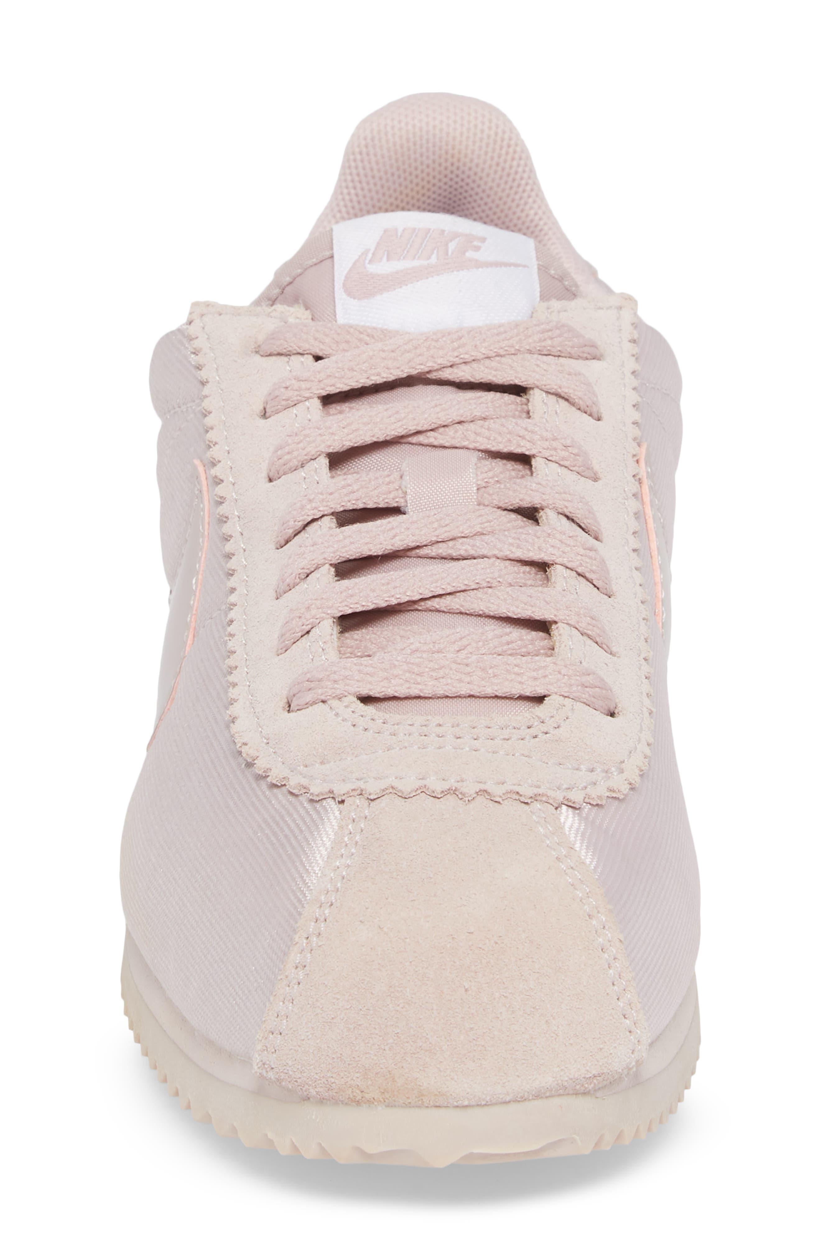'Classic Cortez' Sneaker,                             Alternate thumbnail 4, color,                             Particle Rose/ Particle Rose