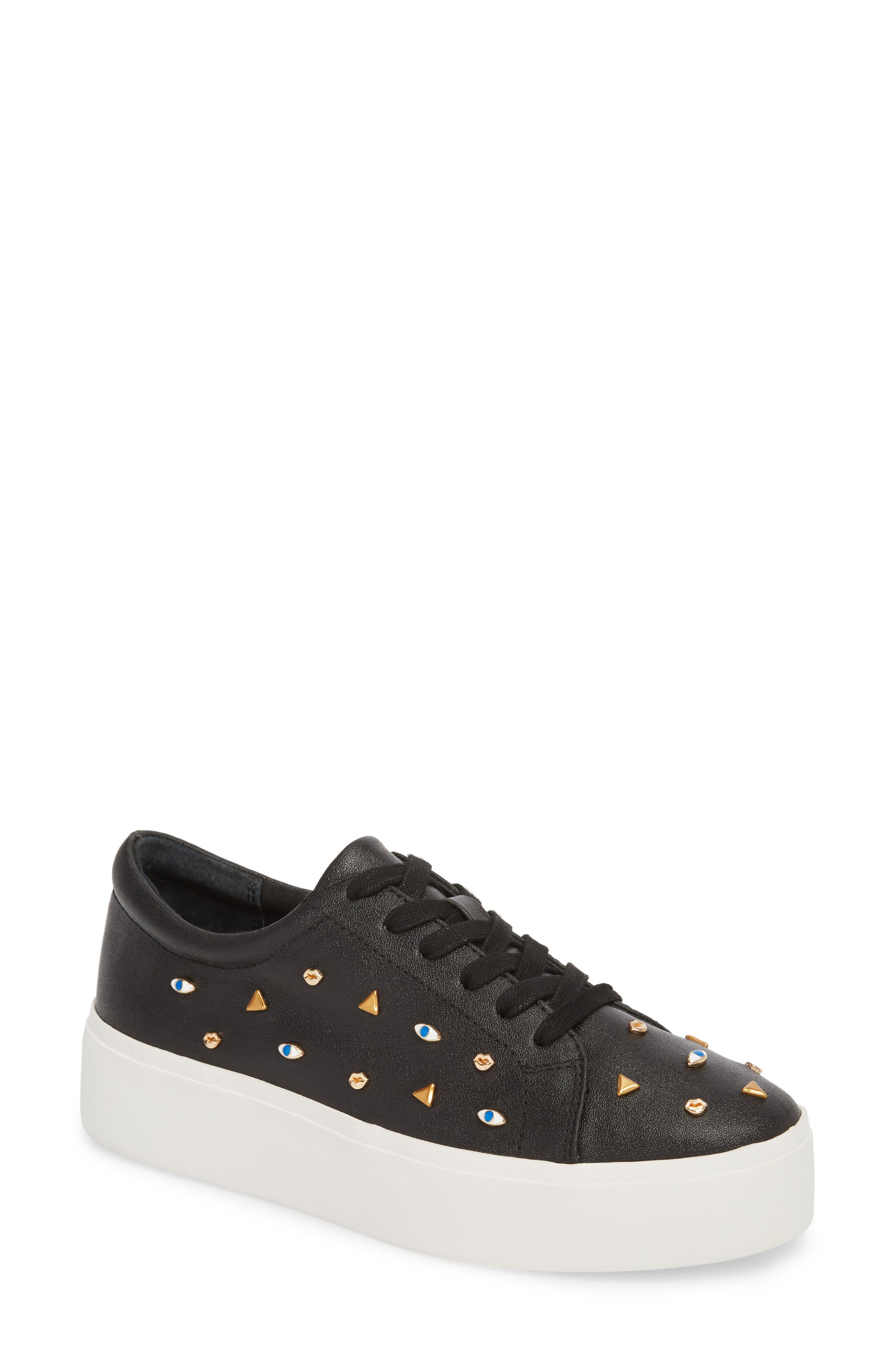 KATY PERRY THE DYLAN EMBELLISHED PLATFORM SNEAKER