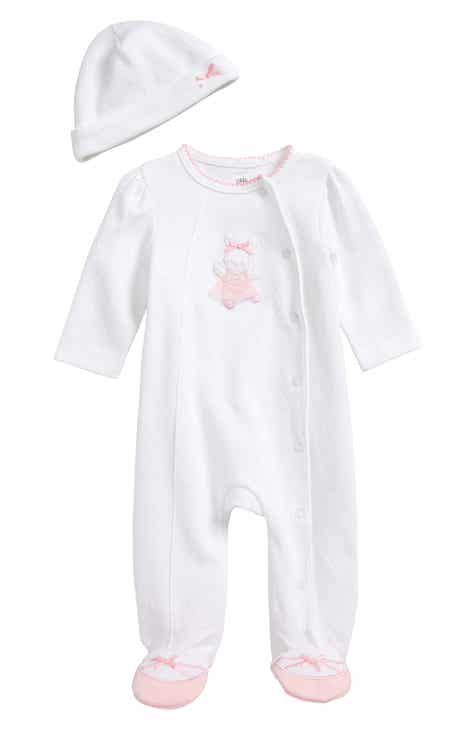 Little Me Ballet Bunny Footie Beanie Set Baby Girls