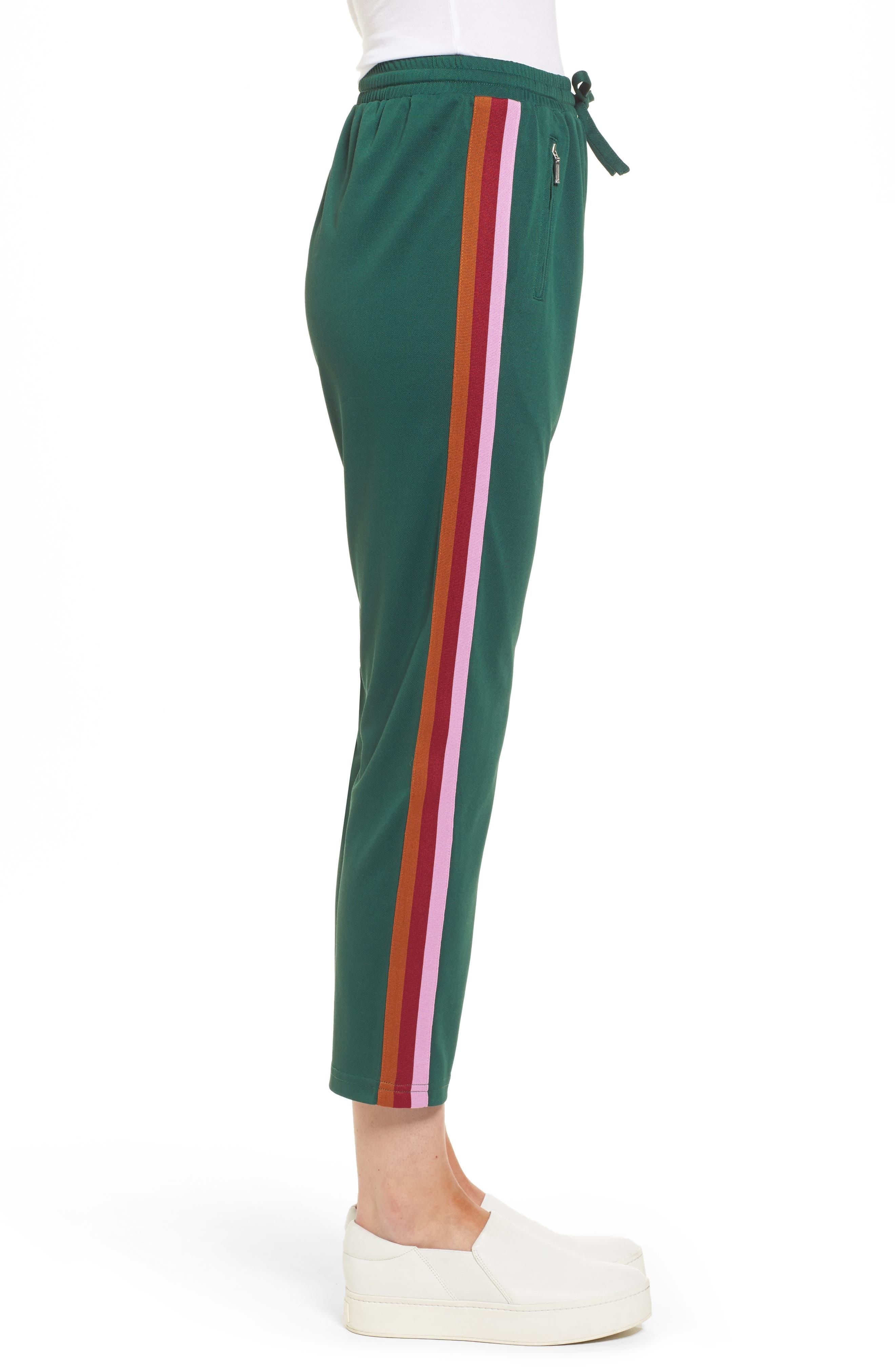 Jolie Crop Pants,                             Alternate thumbnail 5, color,                             Eden/ Pink