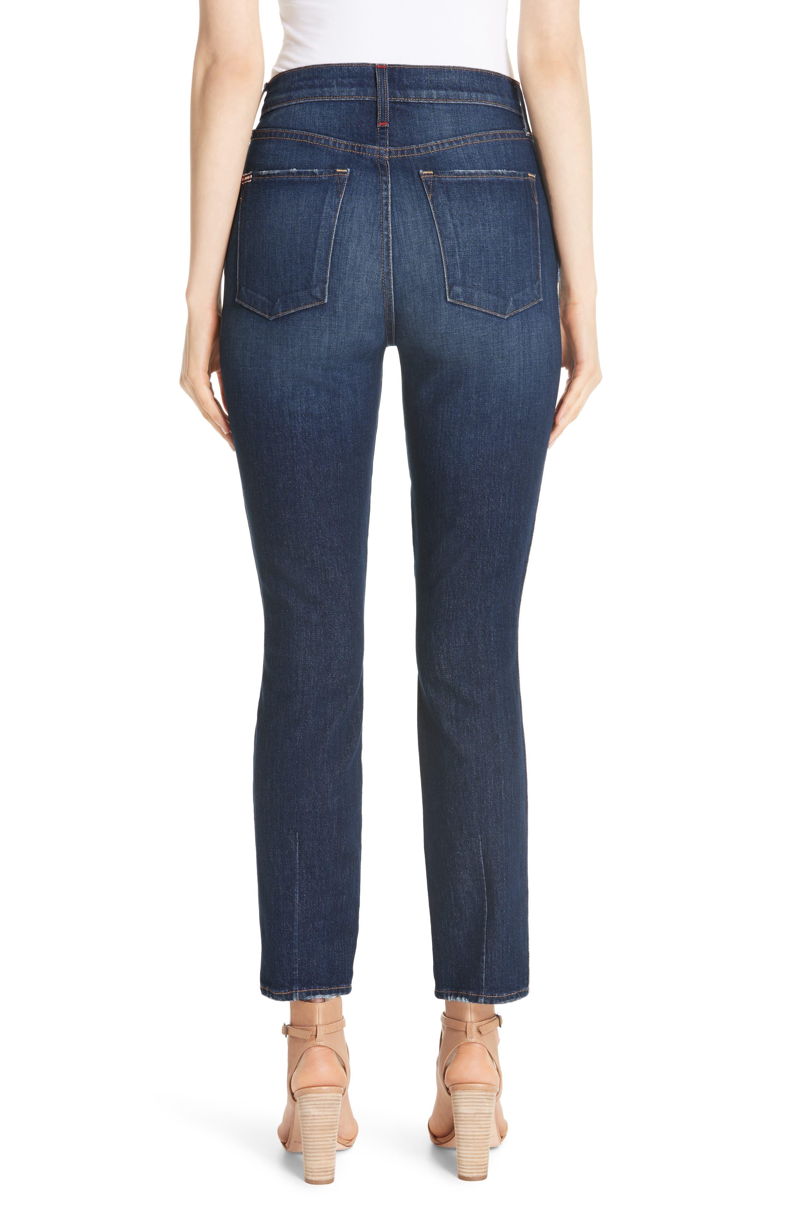 Good High Waist Front Slit Skinny Jeans,                             Alternate thumbnail 2, color,                             Good Times