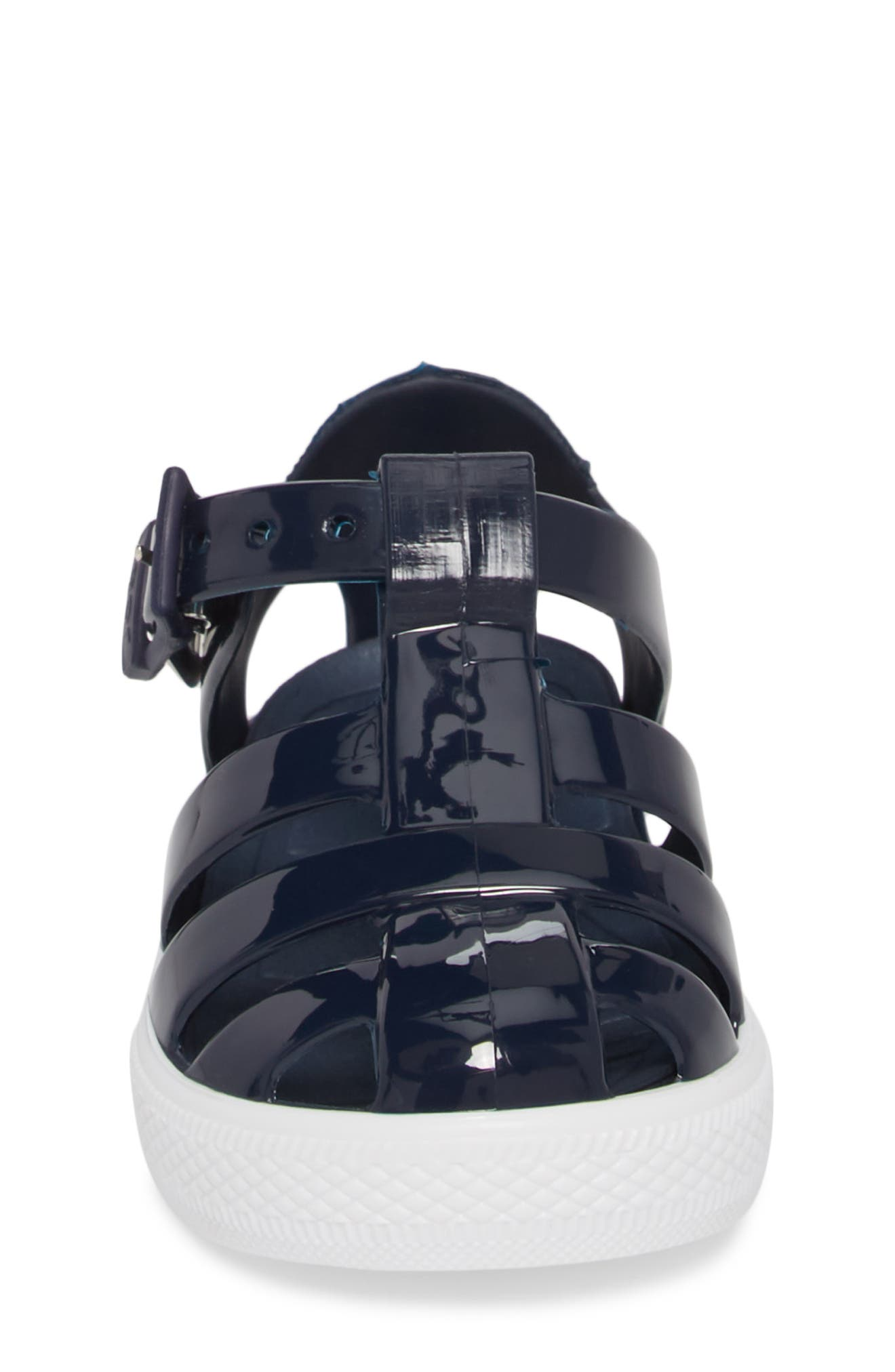 Tenis Fisherman Jelly Sandal,                             Alternate thumbnail 3, color,                             Navy
