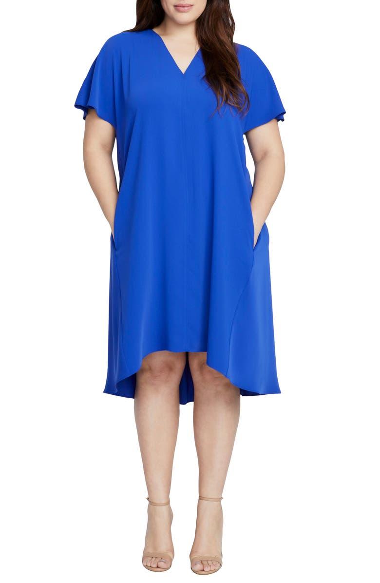 Coretta Slit Sleeve Shift Dress