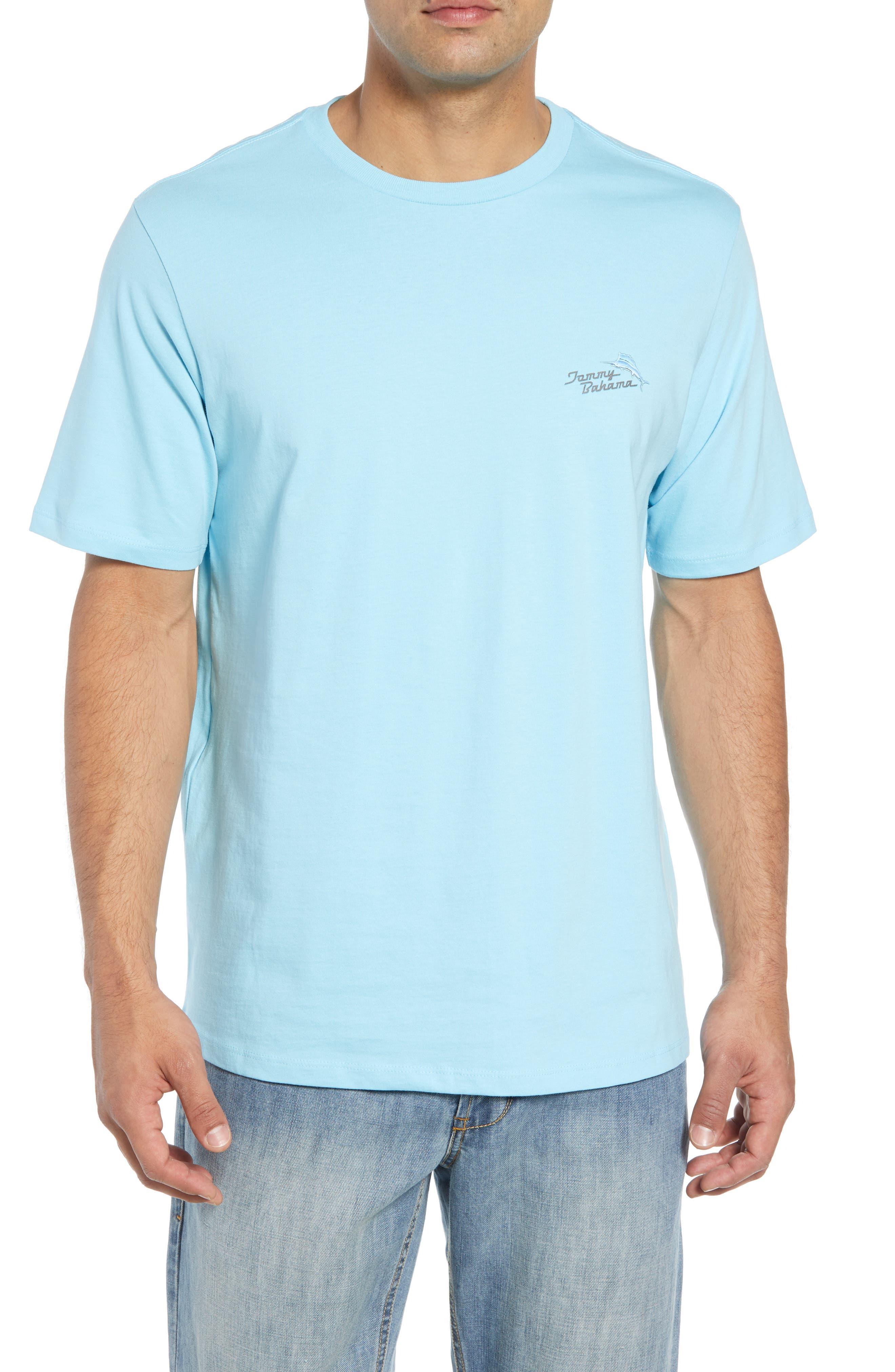 Beach Grille T-Shirt,                             Main thumbnail 1, color,                             Bowtie Blue