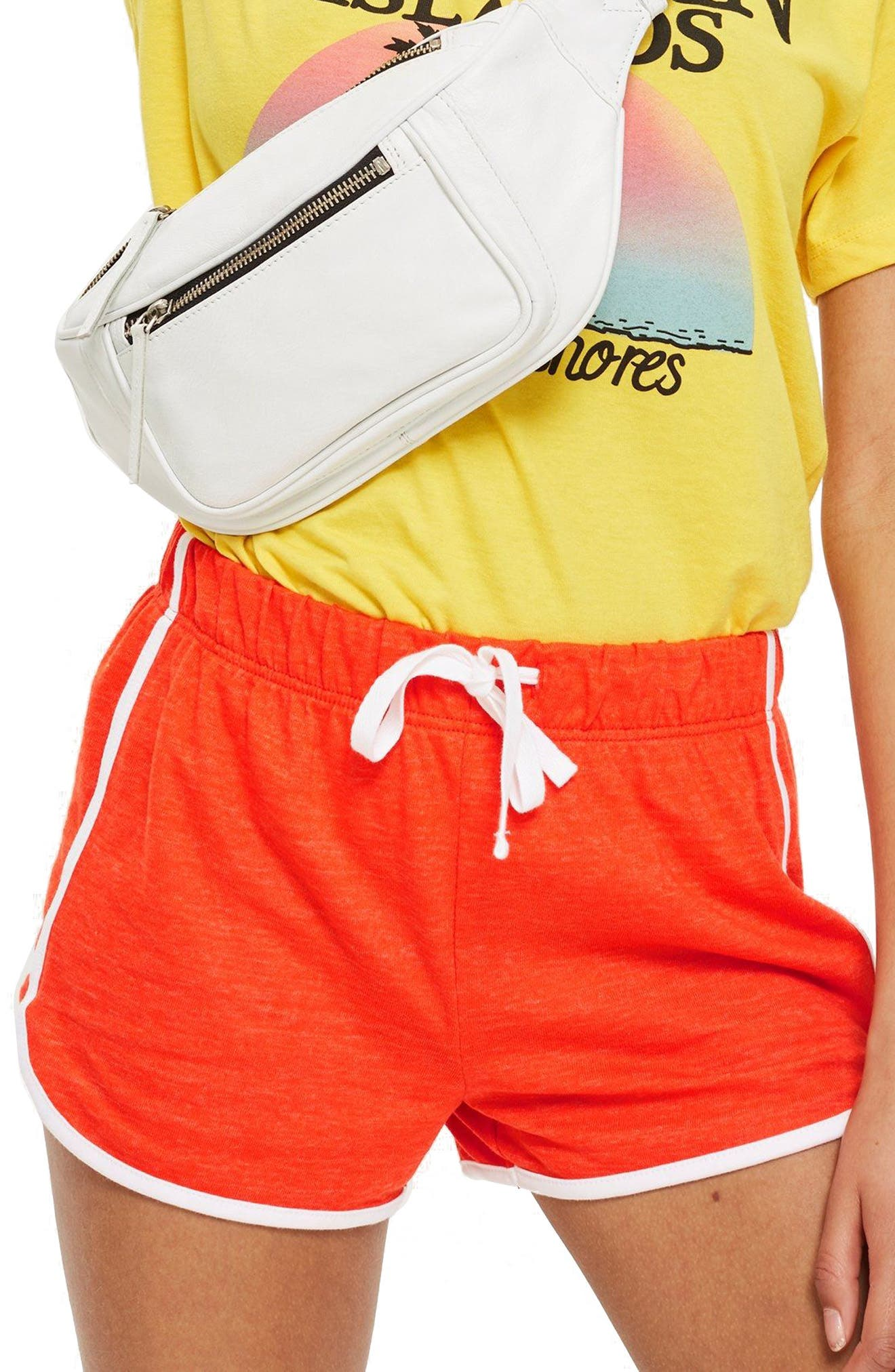 Nep Runner Shorts,                         Main,                         color, Red
