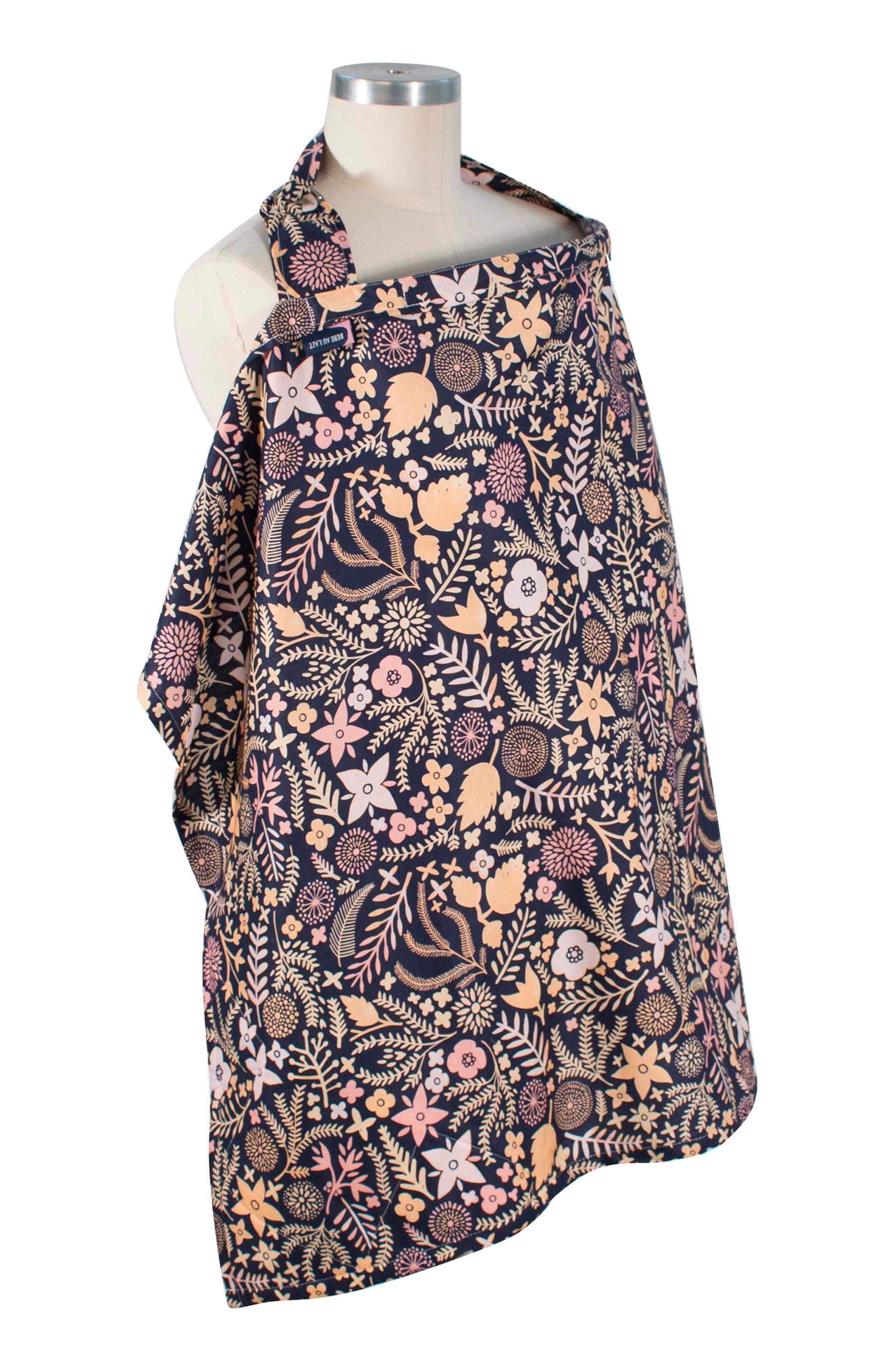 Premium Cotton Nursing Cover,                         Main,                         color, Haven