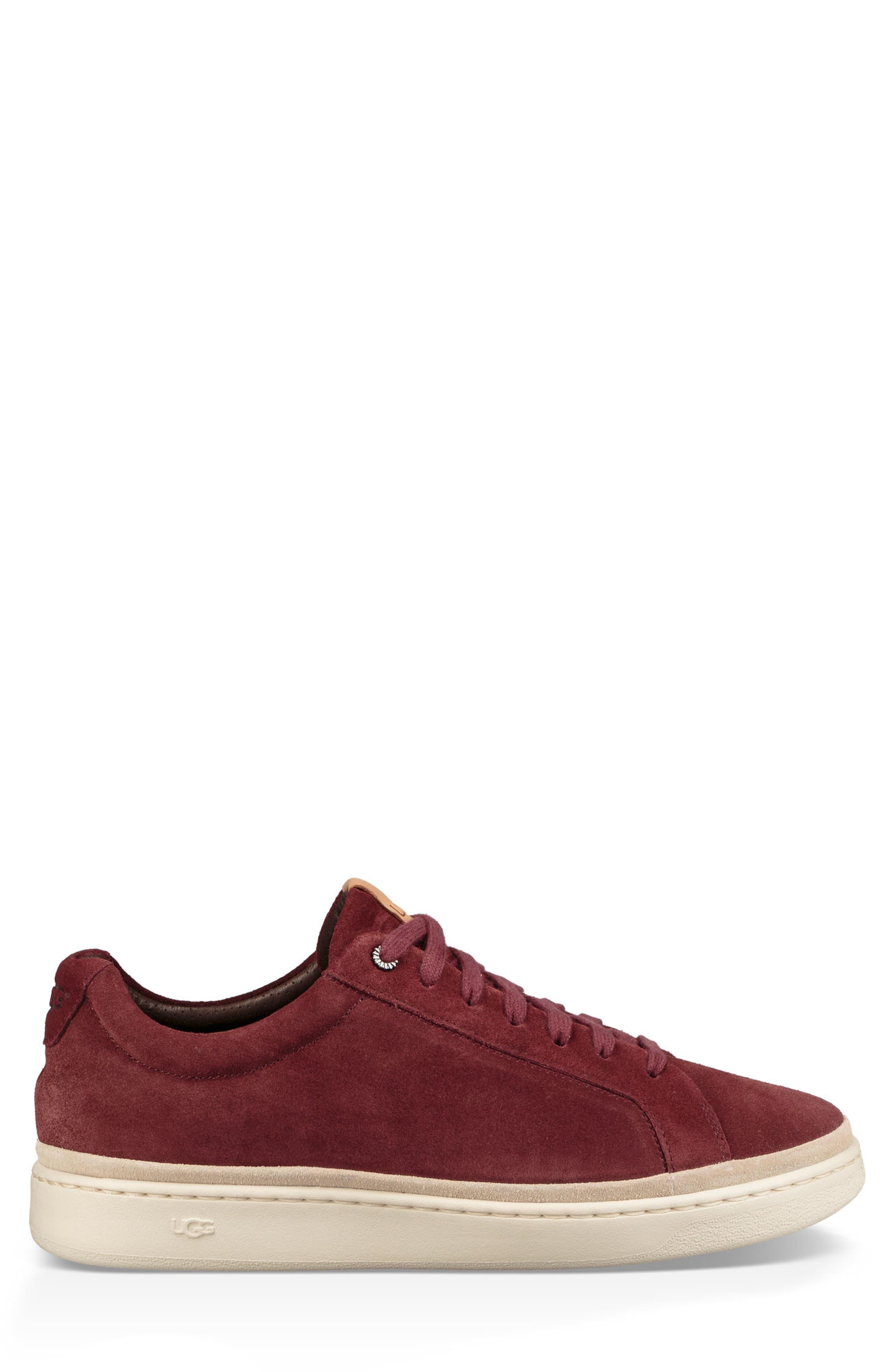 Brecken Sneaker,                             Alternate thumbnail 2, color,                             Pinot Noir Leather