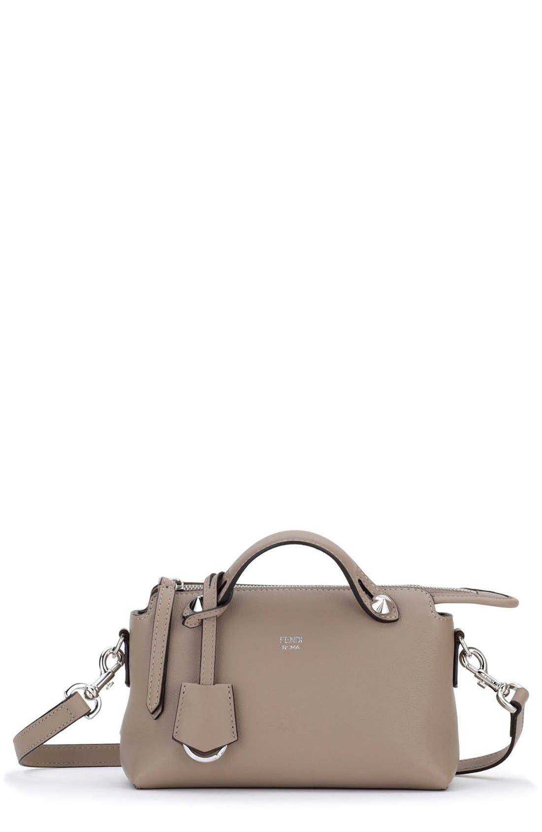 Alternate Image 1 Selected - Fendi 'Mini By the Way' Convertible Leather Crossbody Bag