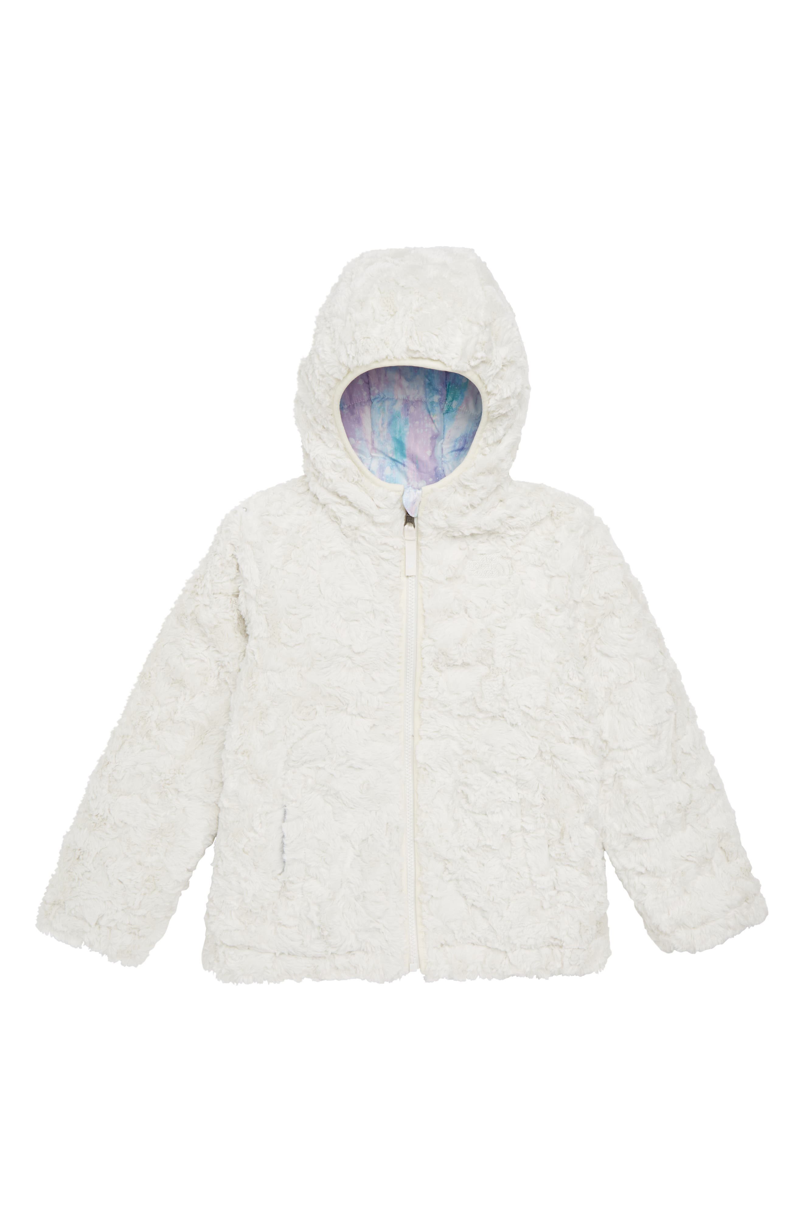 Mossbud Swirl Reversible Jacket,                             Alternate thumbnail 2, color,                             Purdy Pink Snow Dust Print