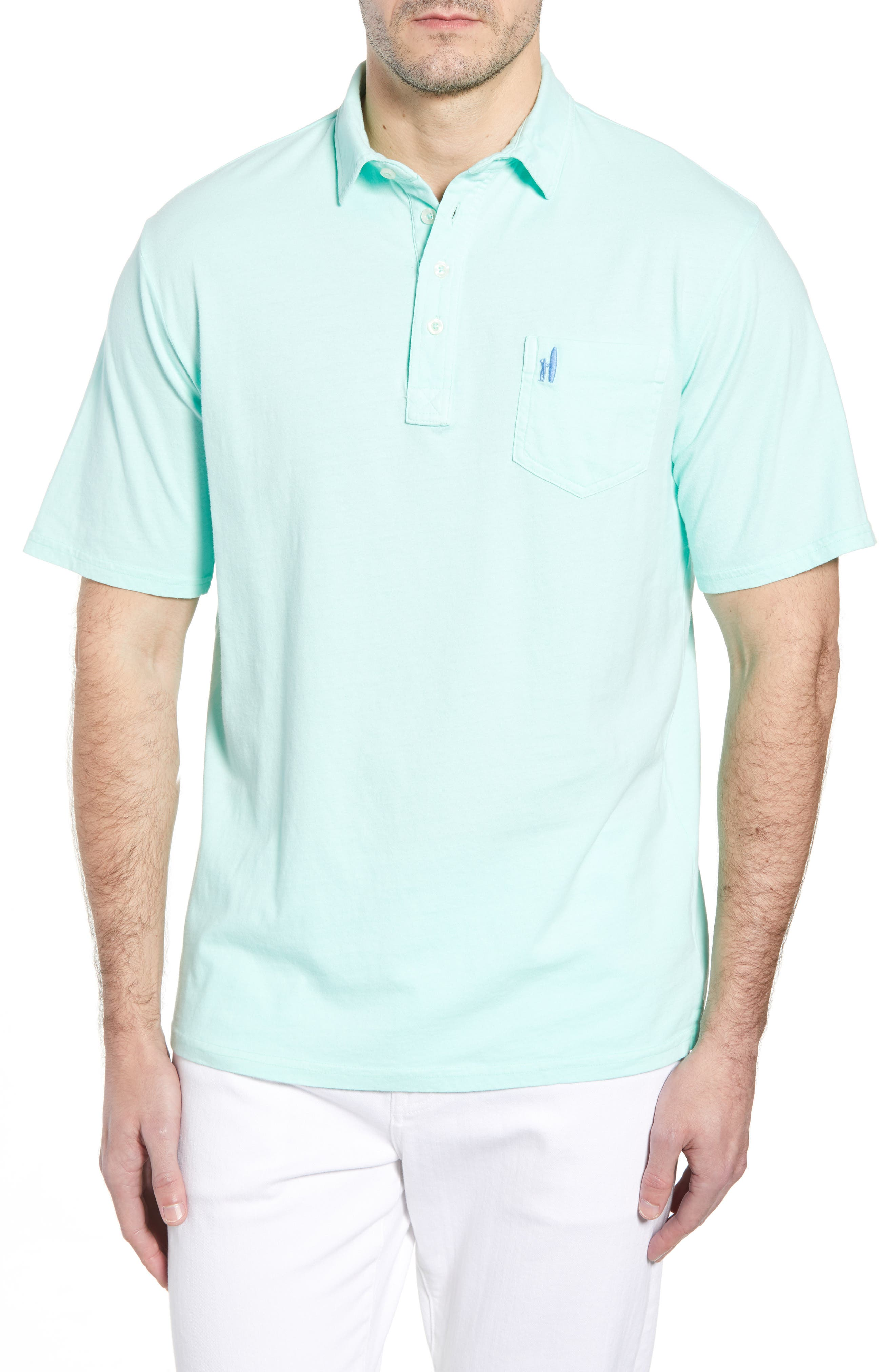 Original Regular Fit Garment Dyed Polo,                         Main,                         color, Fern