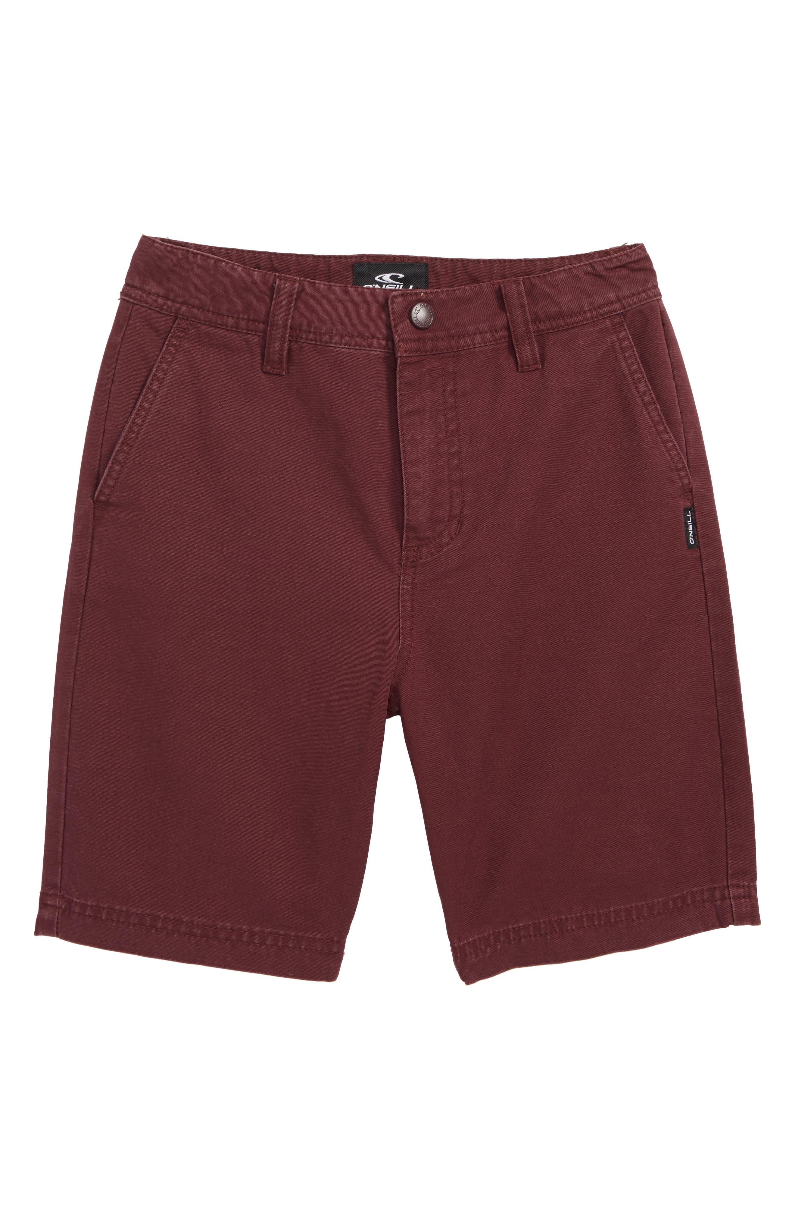 Jay Chino Shorts,                         Main,                         color, Wine