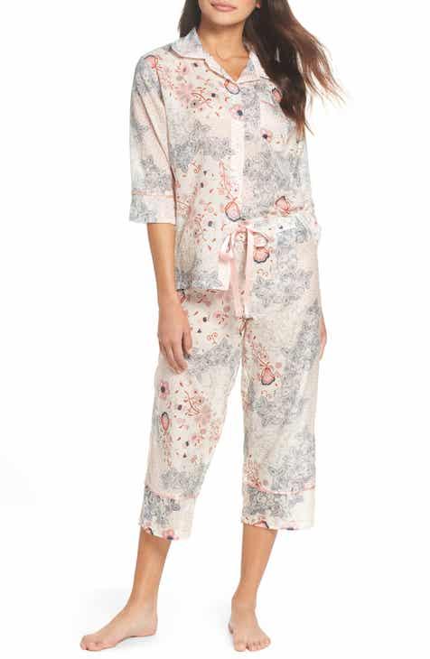 b40f613959 Papinelle Arabella Crop Pajamas