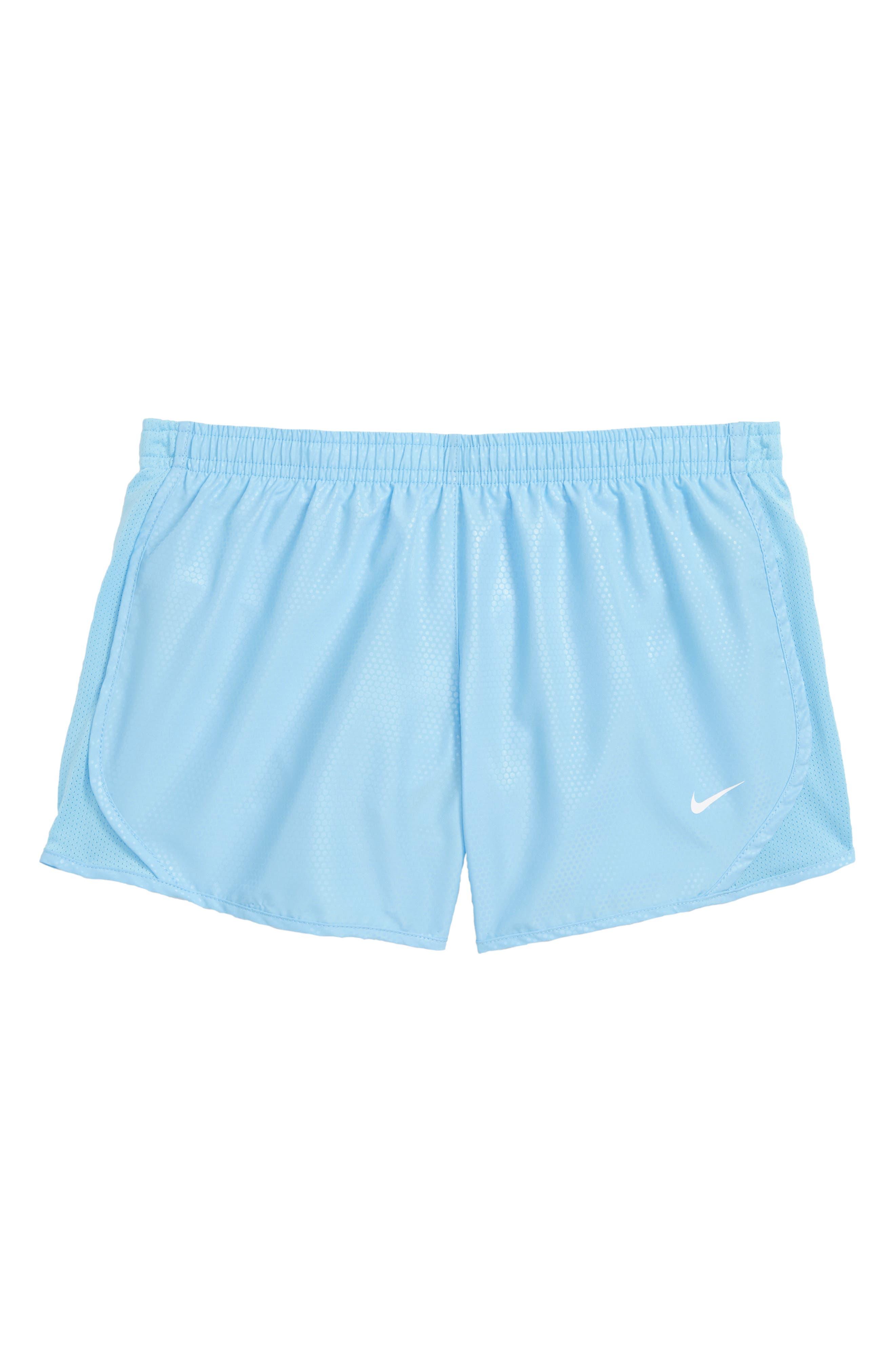 Dry Tempo Shorts,                         Main,                         color, Blue Chill/ White