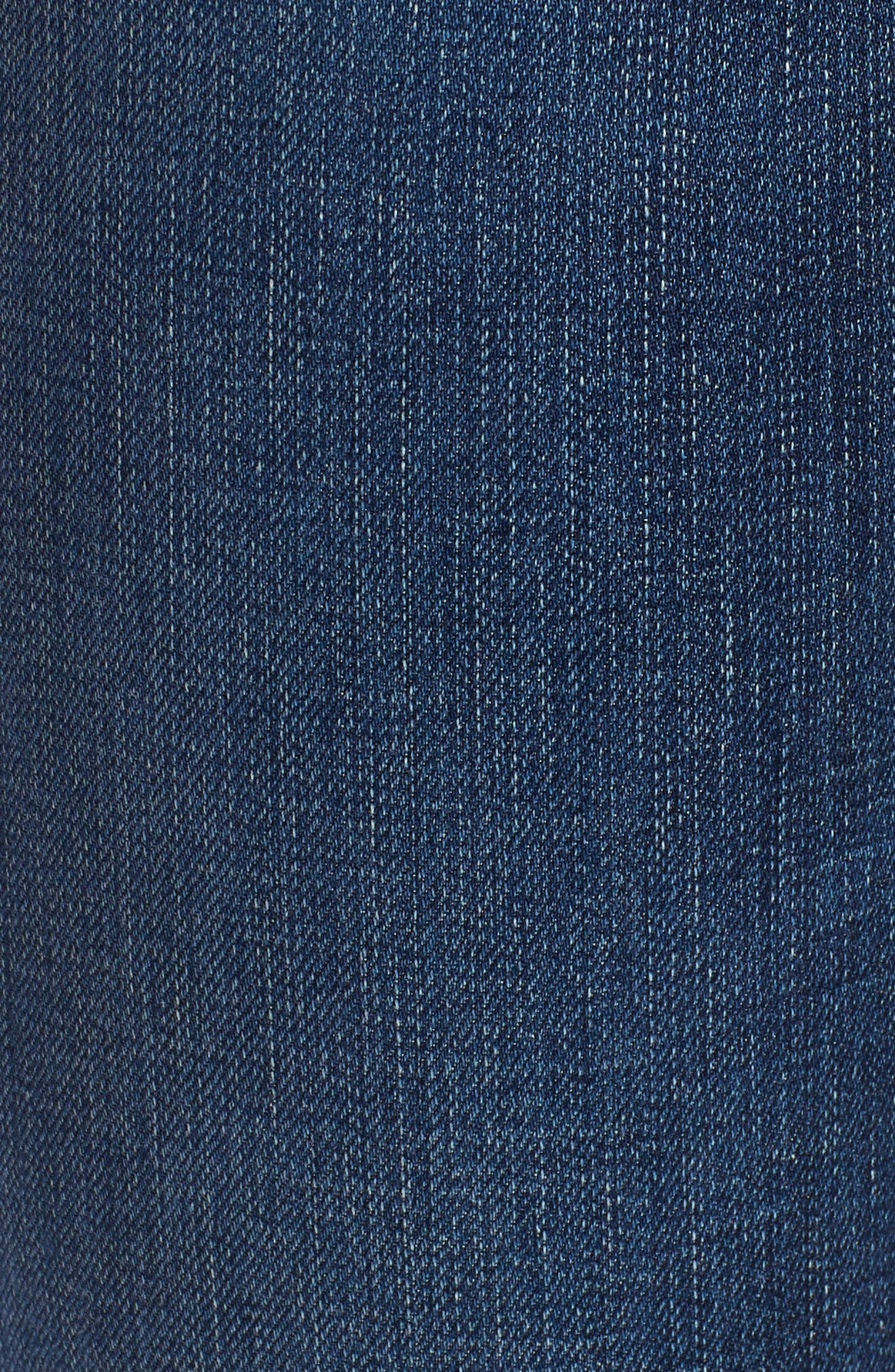 The Legging Ripped Ankle Skinny Jeans,                             Alternate thumbnail 6, color,                             04 Years Lucid Quartz