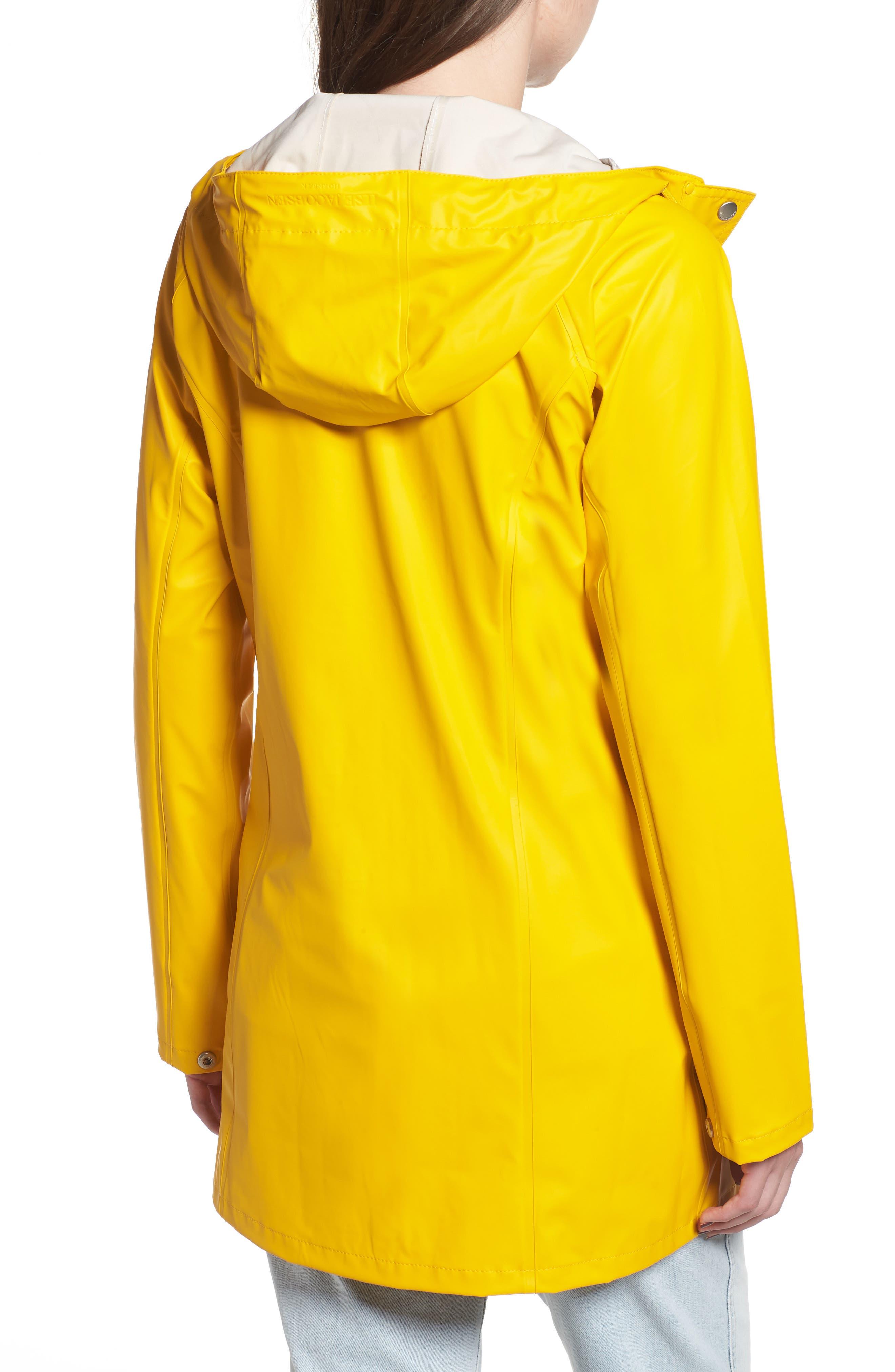 Illse Jacobsen Hornbaek Raincoat,                             Alternate thumbnail 2, color,                             Cyber Yellow