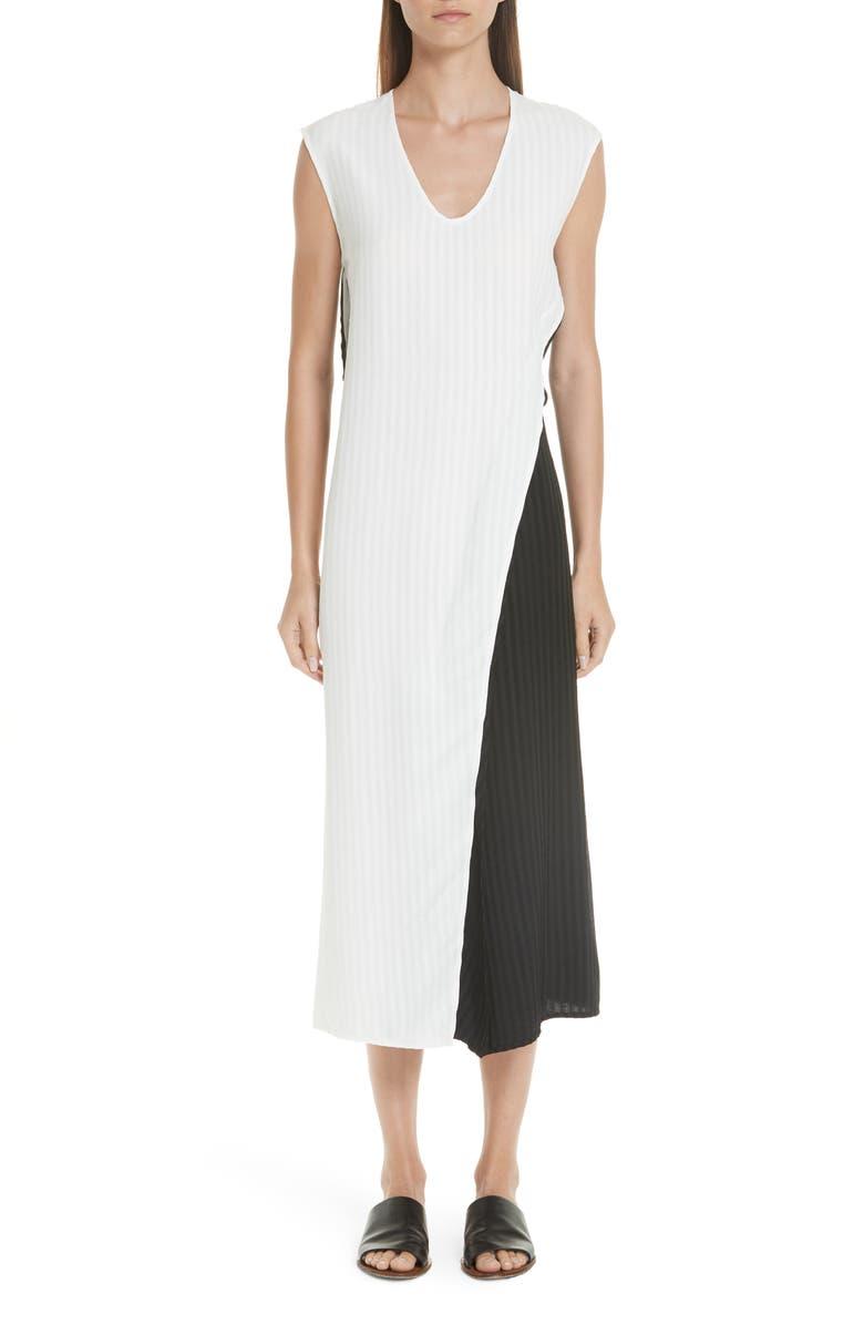 Colorblock Twist Dress