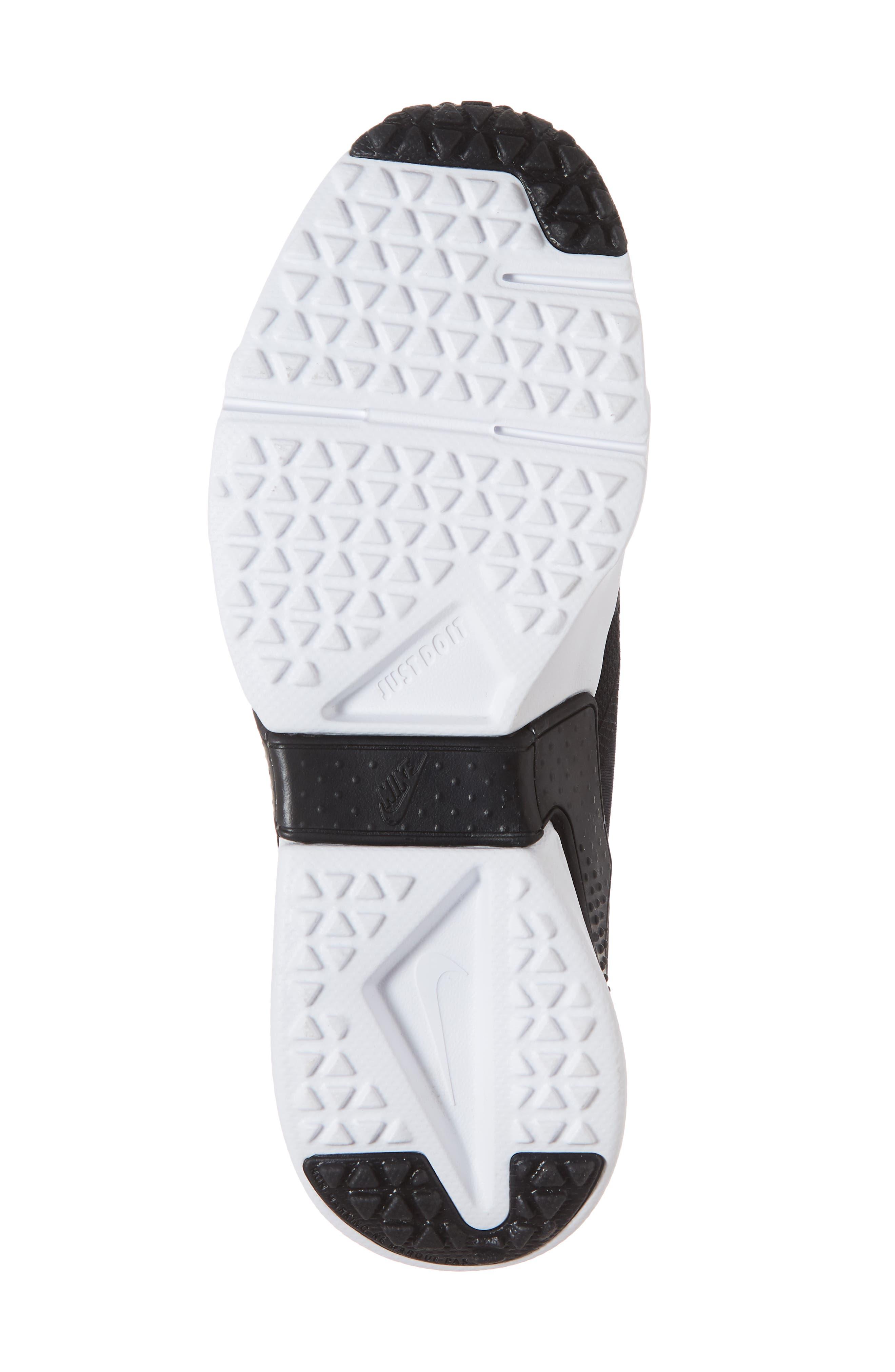 Huarache Run Drift Sneaker,                             Alternate thumbnail 7, color,                             Black/ Anthracite