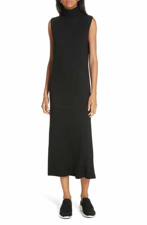 Vince Sleeveless Turtleneck Dress