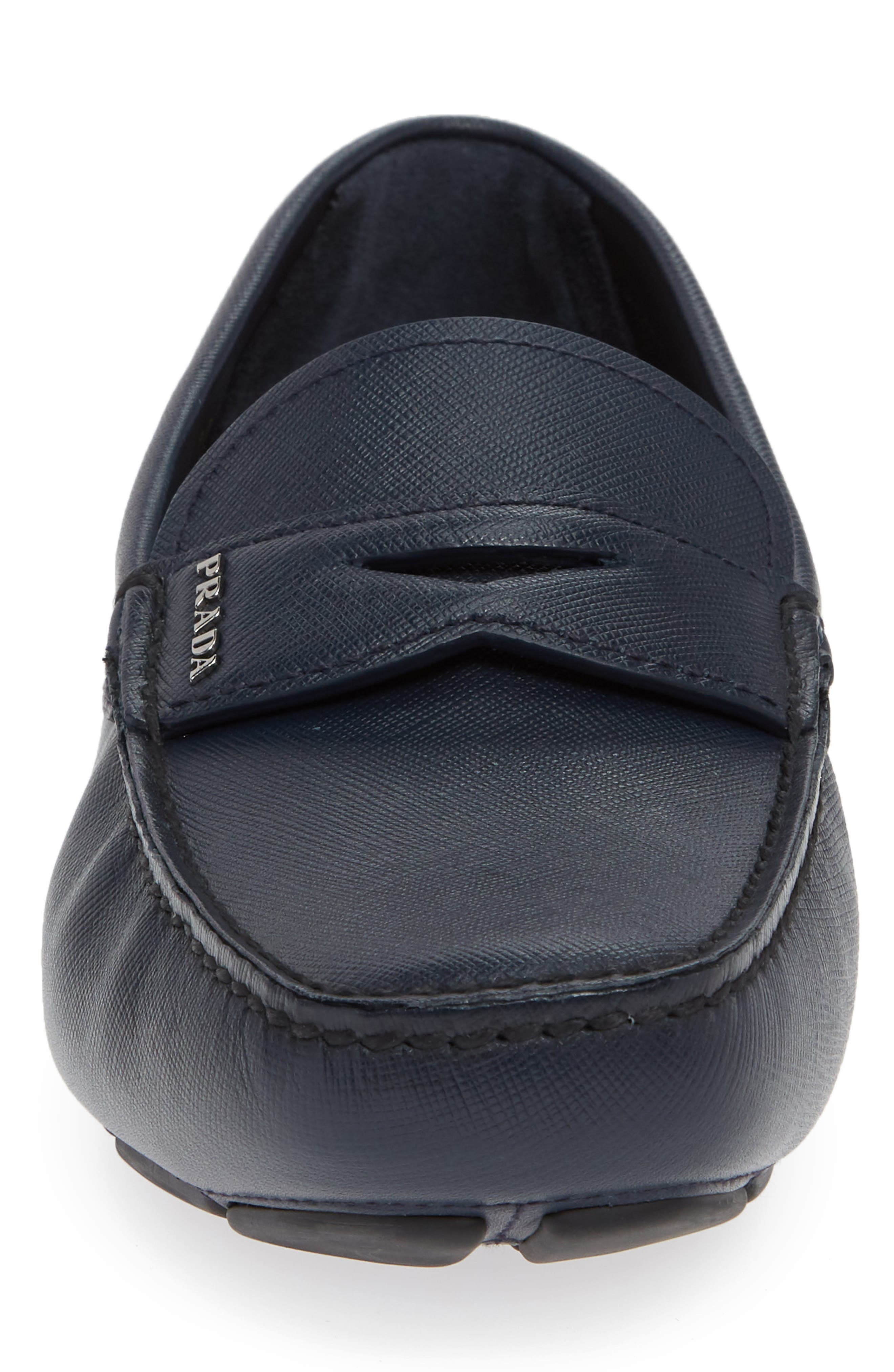 Driving Shoe,                             Alternate thumbnail 6, color,                             Baltico Blue